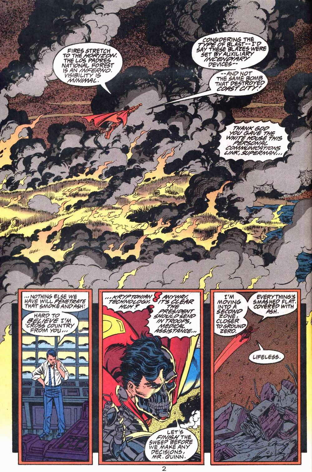 Read online Adventures of Superman (1987) comic -  Issue #503 - 3