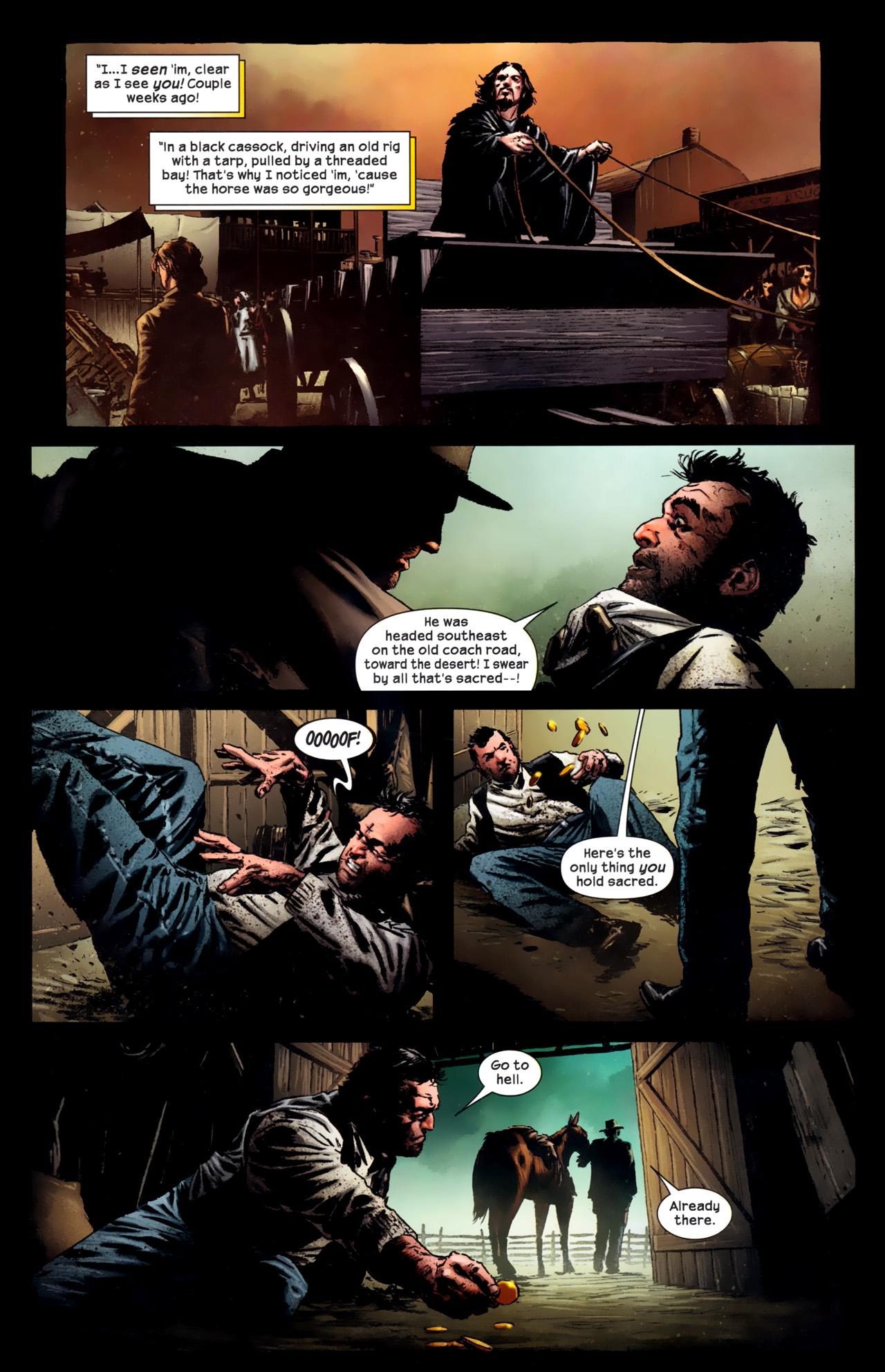 Read online Dark Tower: The Gunslinger - The Battle of Tull comic -  Issue #1 - 9