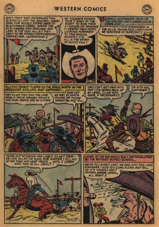 Western Comics issue 41 - Page 20