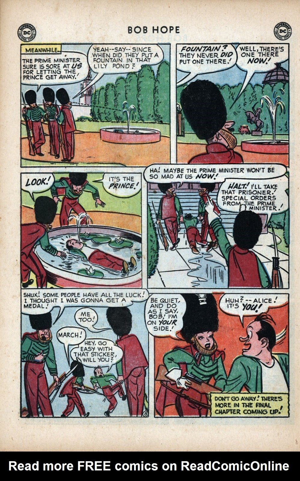 The Adventures of Bob Hope issue 11 - Page 30