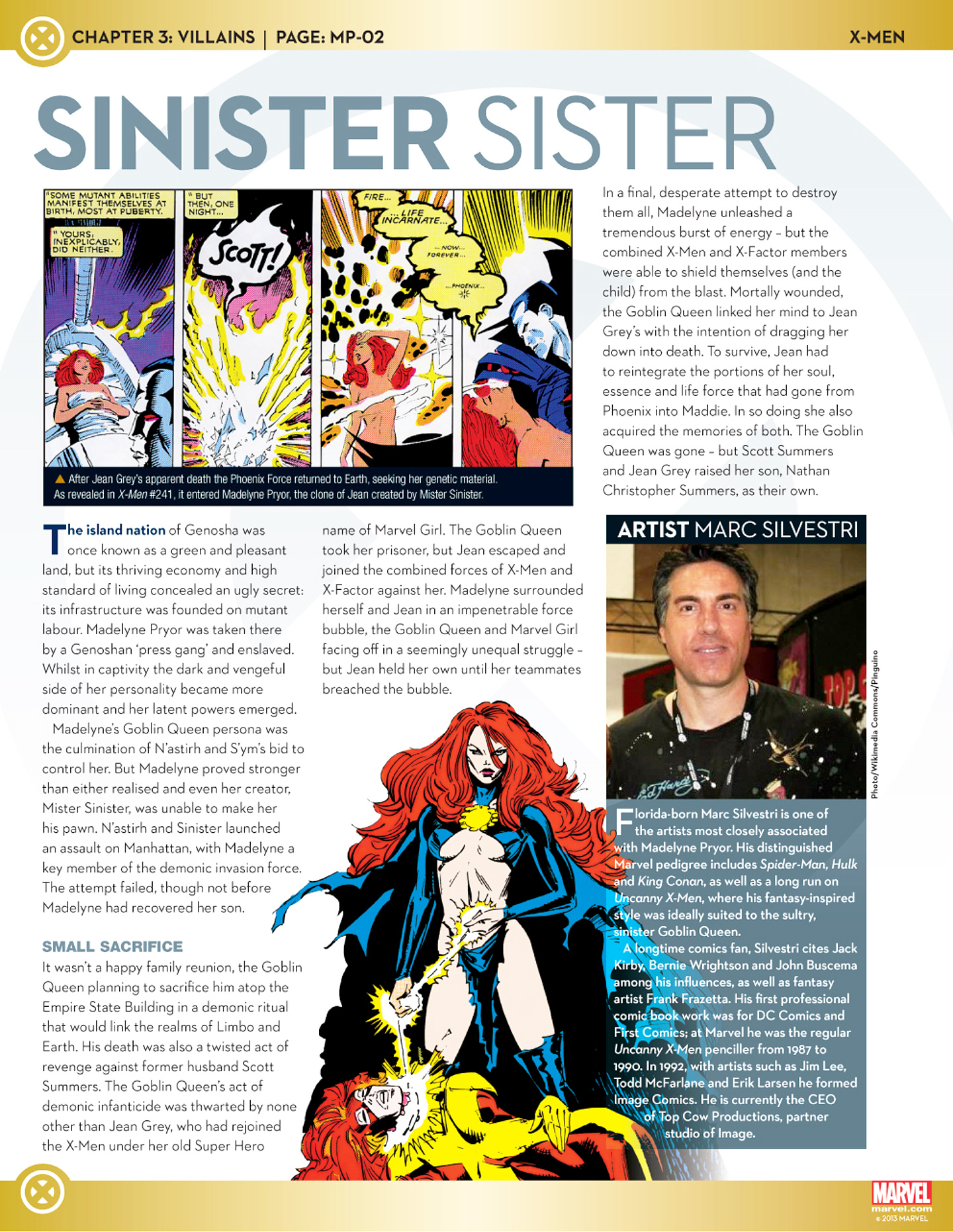 Marvel Fact Files 25 Page 30
