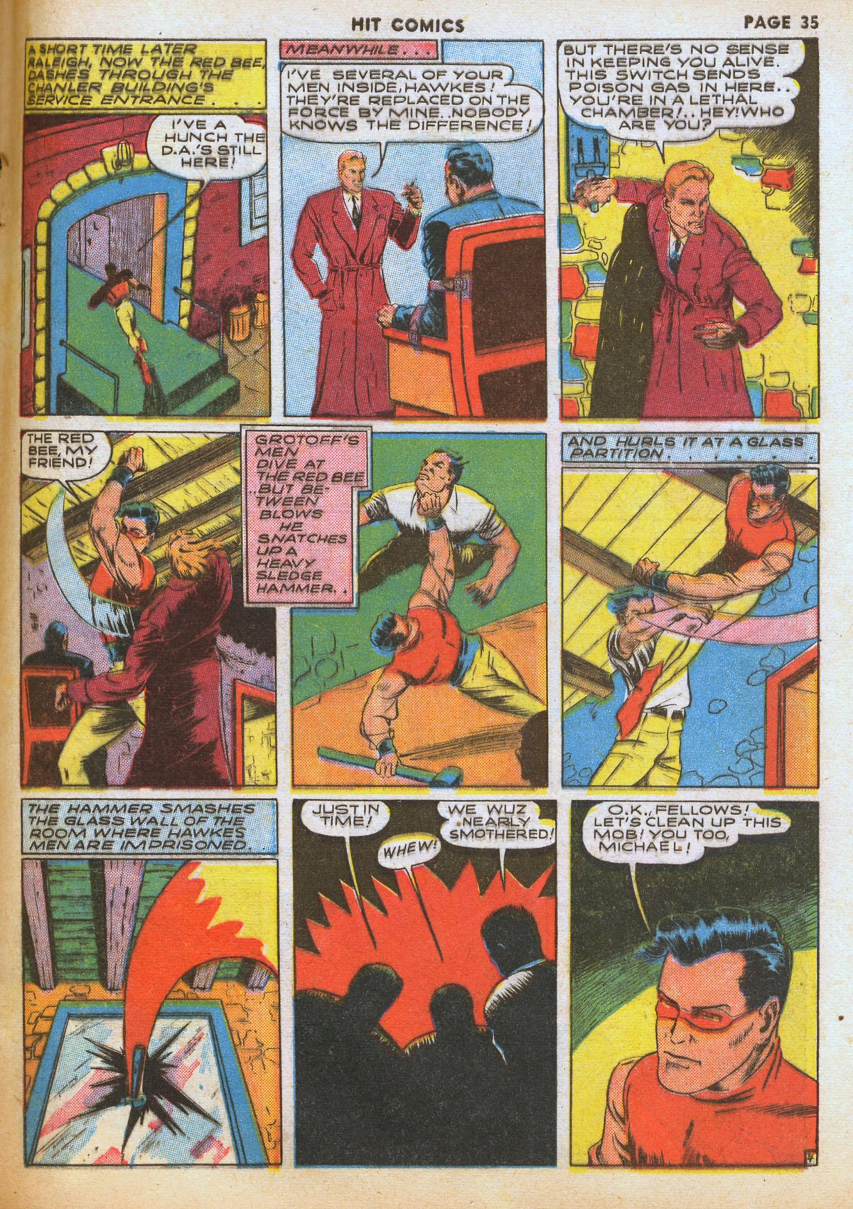 Read online Hit Comics comic -  Issue #12 - 37