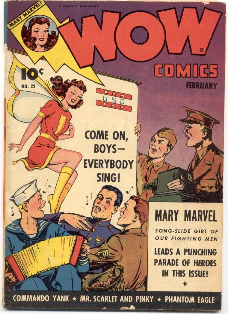 Wow Comics 22 Page 1
