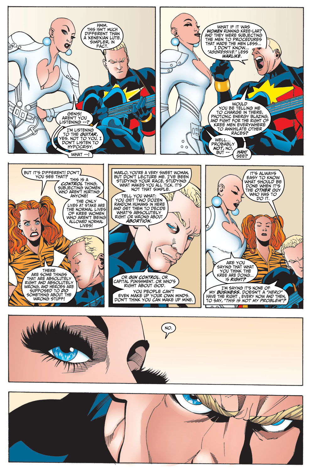 Captain Marvel (1999) Issue #15 #16 - English 6