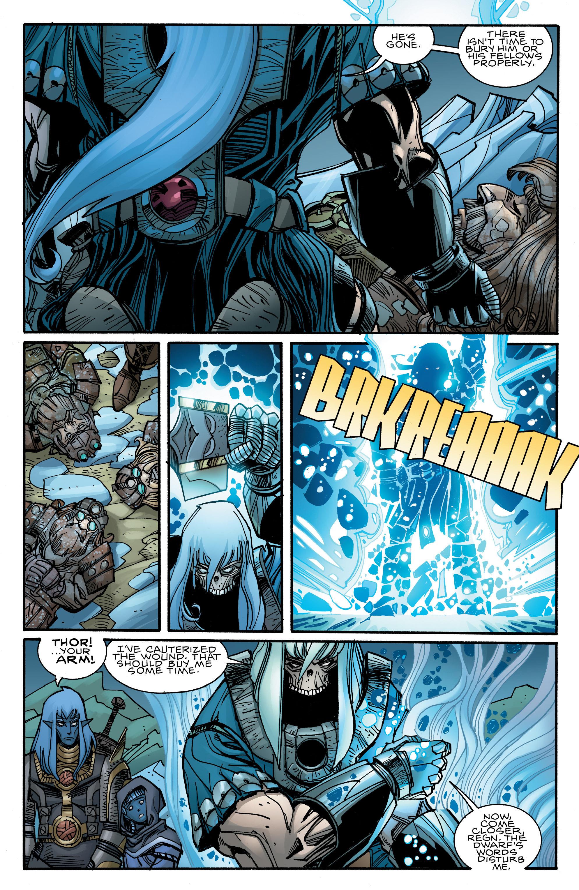 Read online Ragnarok comic -  Issue #10 - 9