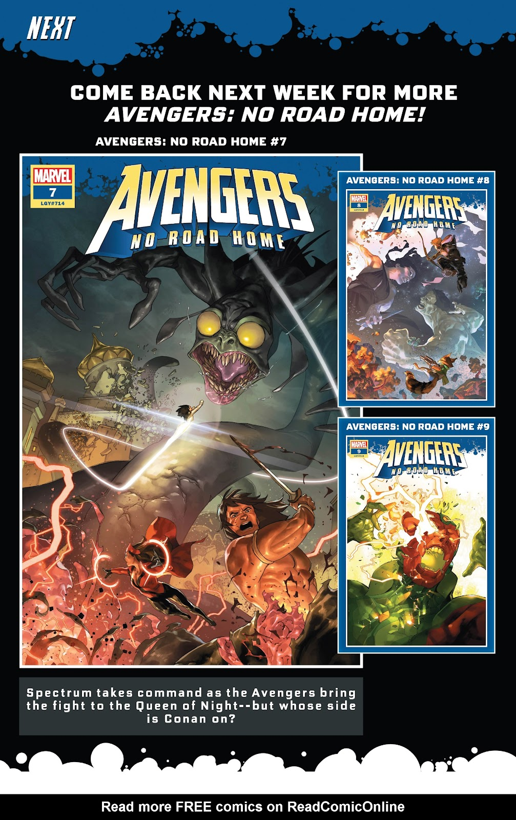 Read online Avengers No Road Home comic -  Issue #6 - 34