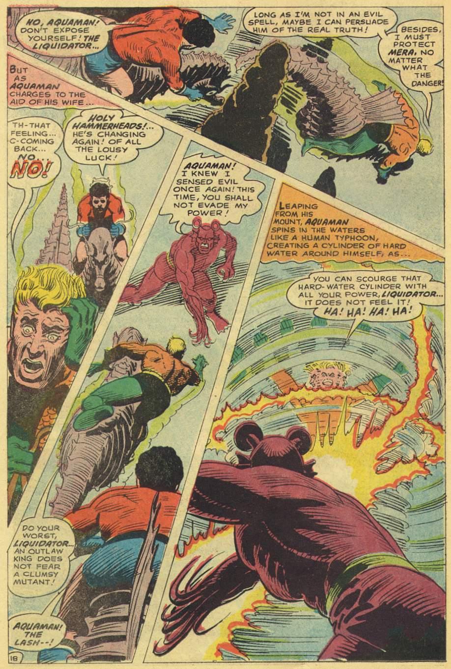 Read online Aquaman (1962) comic -  Issue #38 - 26
