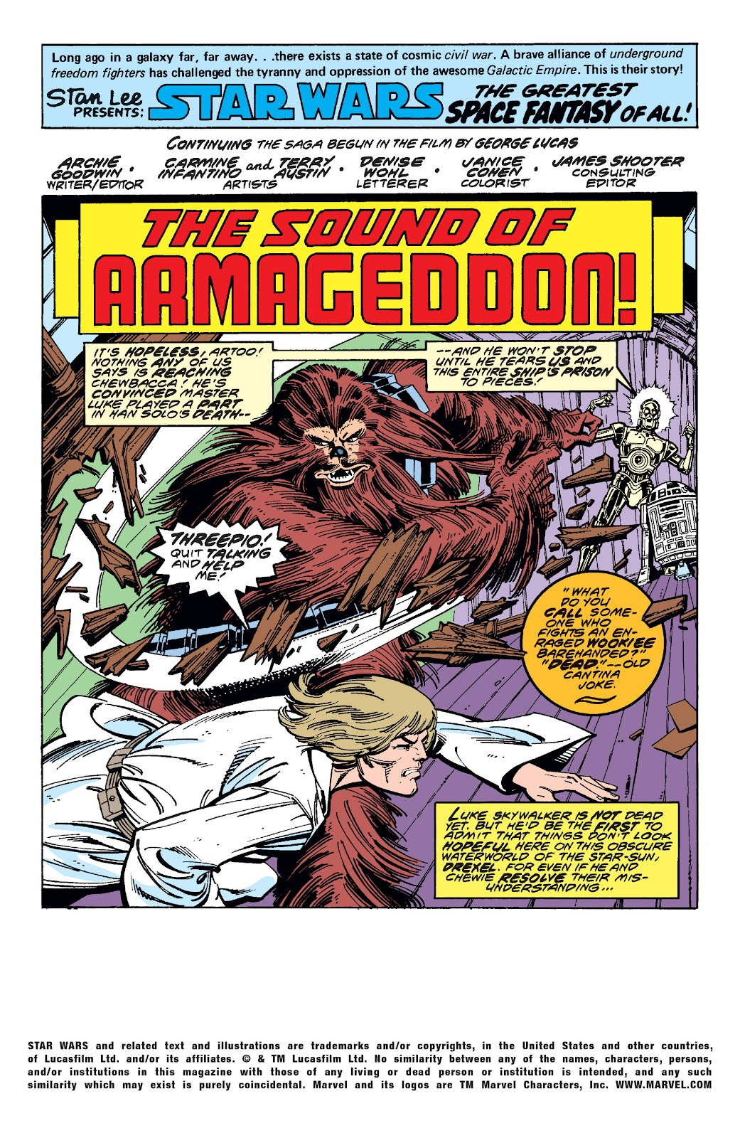 Read online Star Wars Legends: The Original Marvel Years - Epic Collection comic -  Issue # TPB 1 (Part 3) - 45