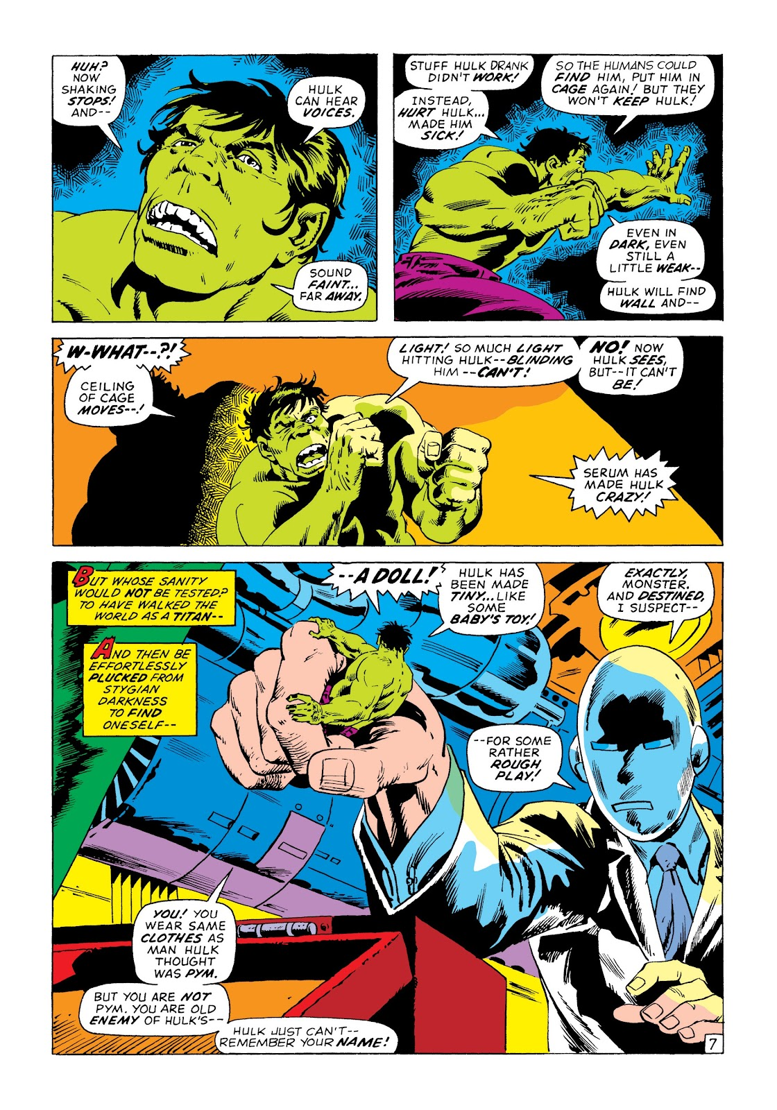 Read online Marvel Masterworks: The Incredible Hulk comic -  Issue # TPB 8 (Part 3) - 25