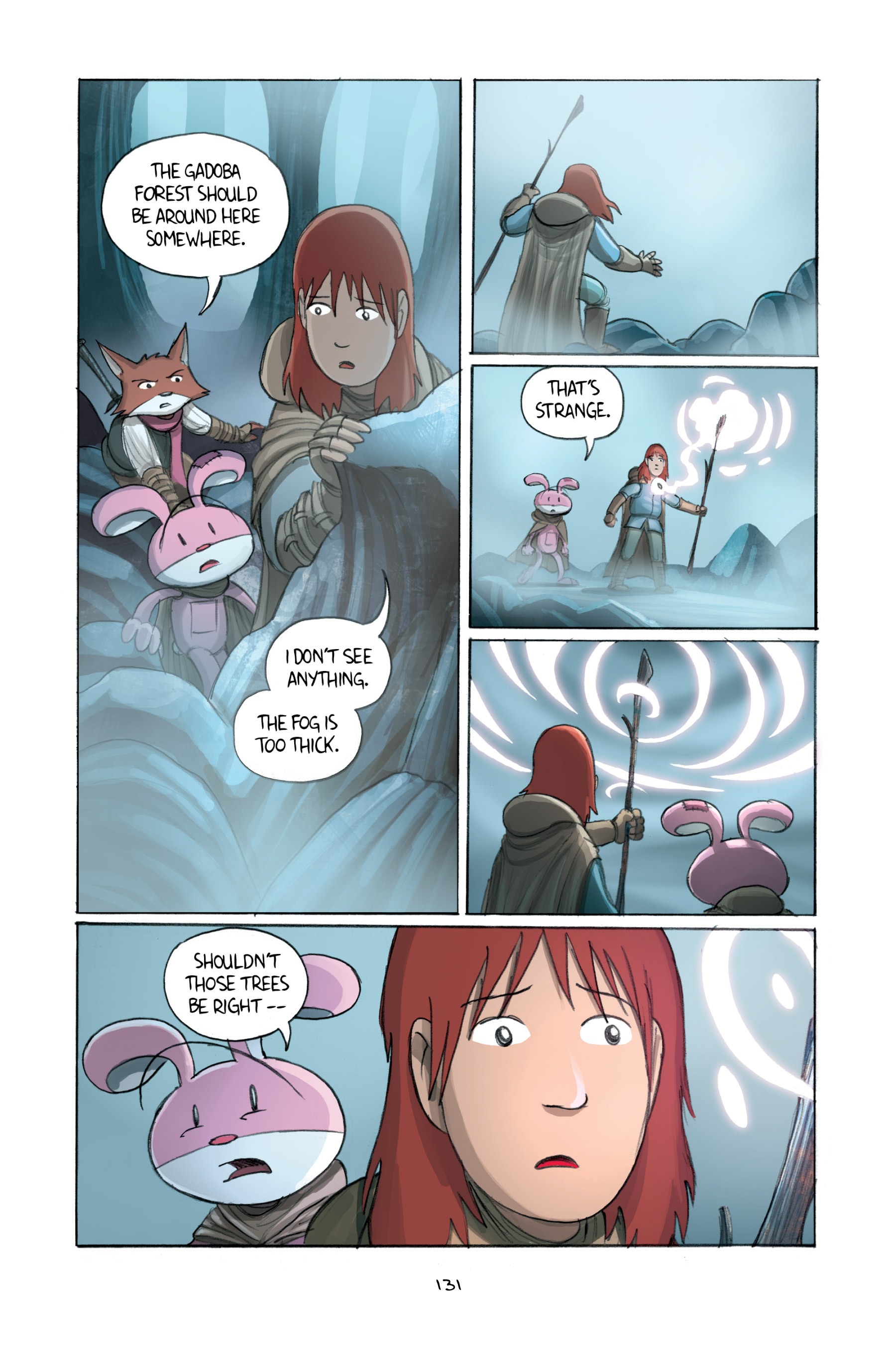 Read online Amulet comic -  Issue #2 - 131