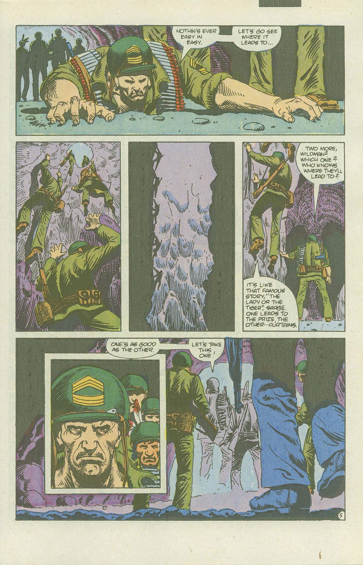 Read online Sgt. Rock comic -  Issue #415 - 8