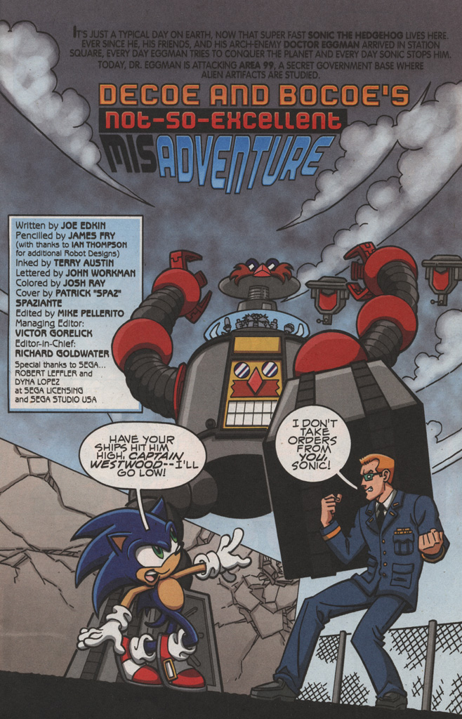 Read online Sonic X comic -  Issue #22 - 3