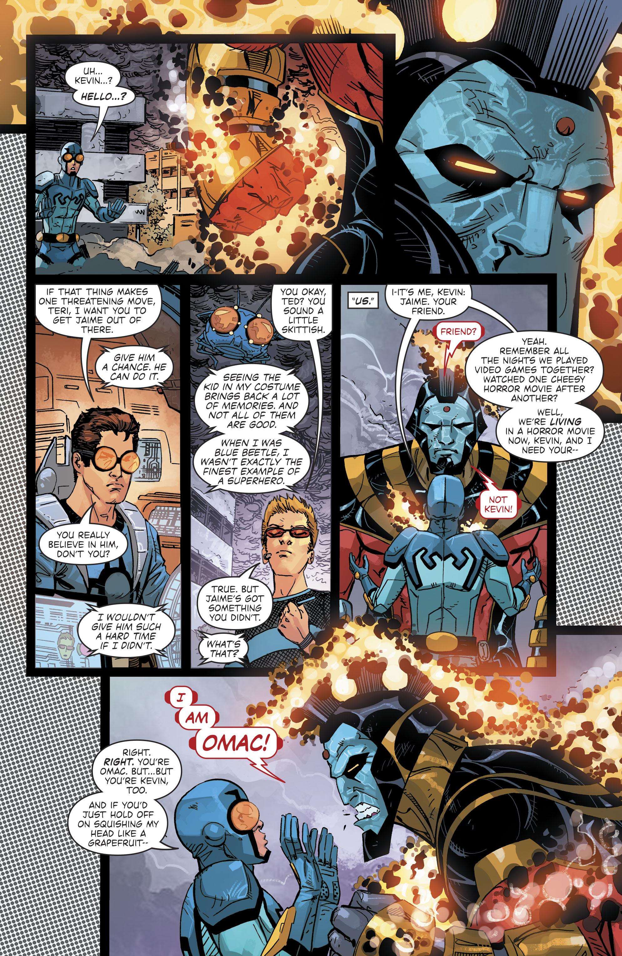 Read online Blue Beetle (2016) comic -  Issue #9 - 10
