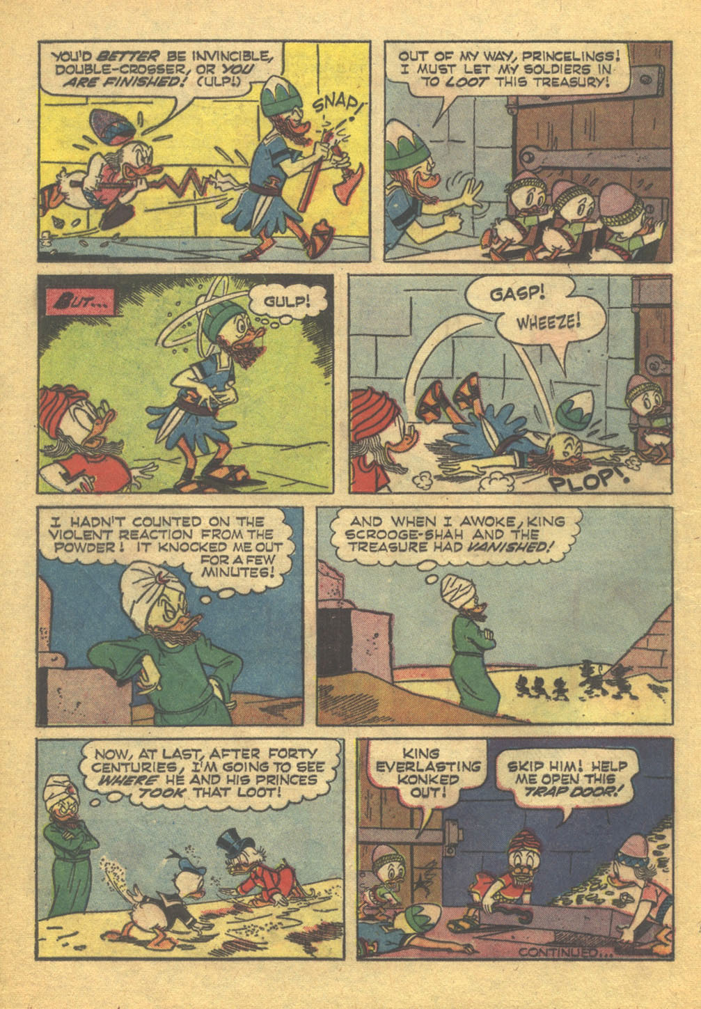 Read online Uncle Scrooge (1953) comic -  Issue #71 - 16