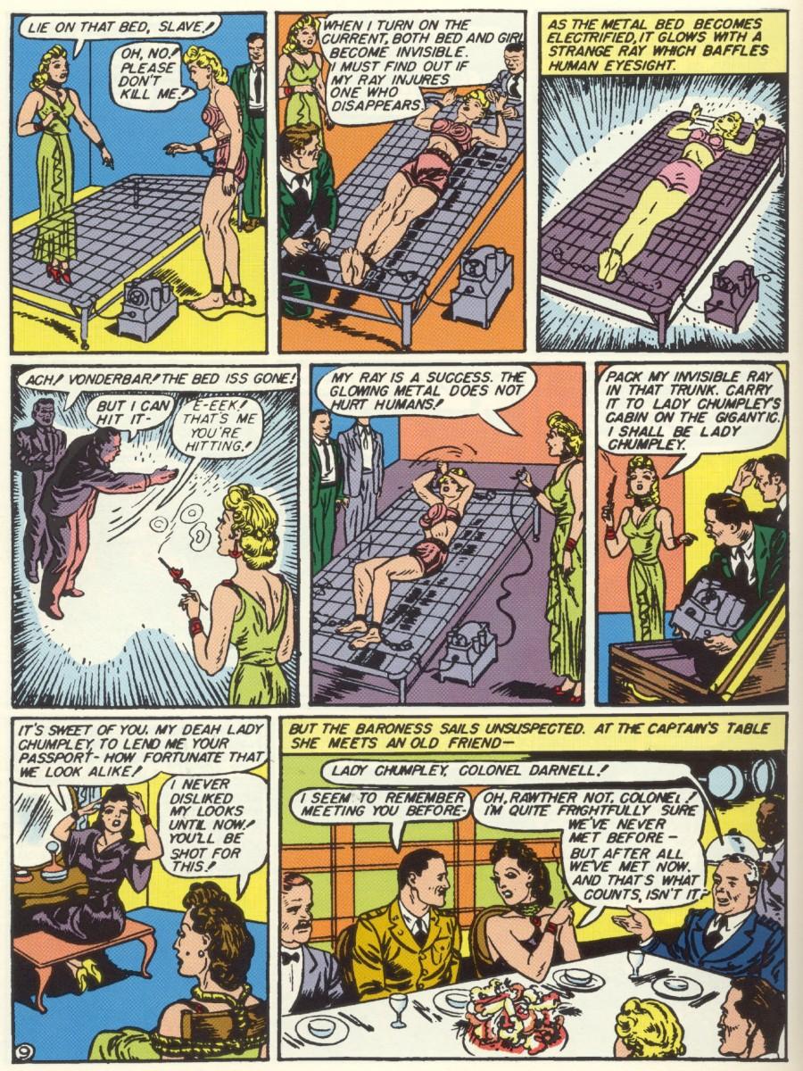 Read online Sensation (Mystery) Comics comic -  Issue #6 - 11