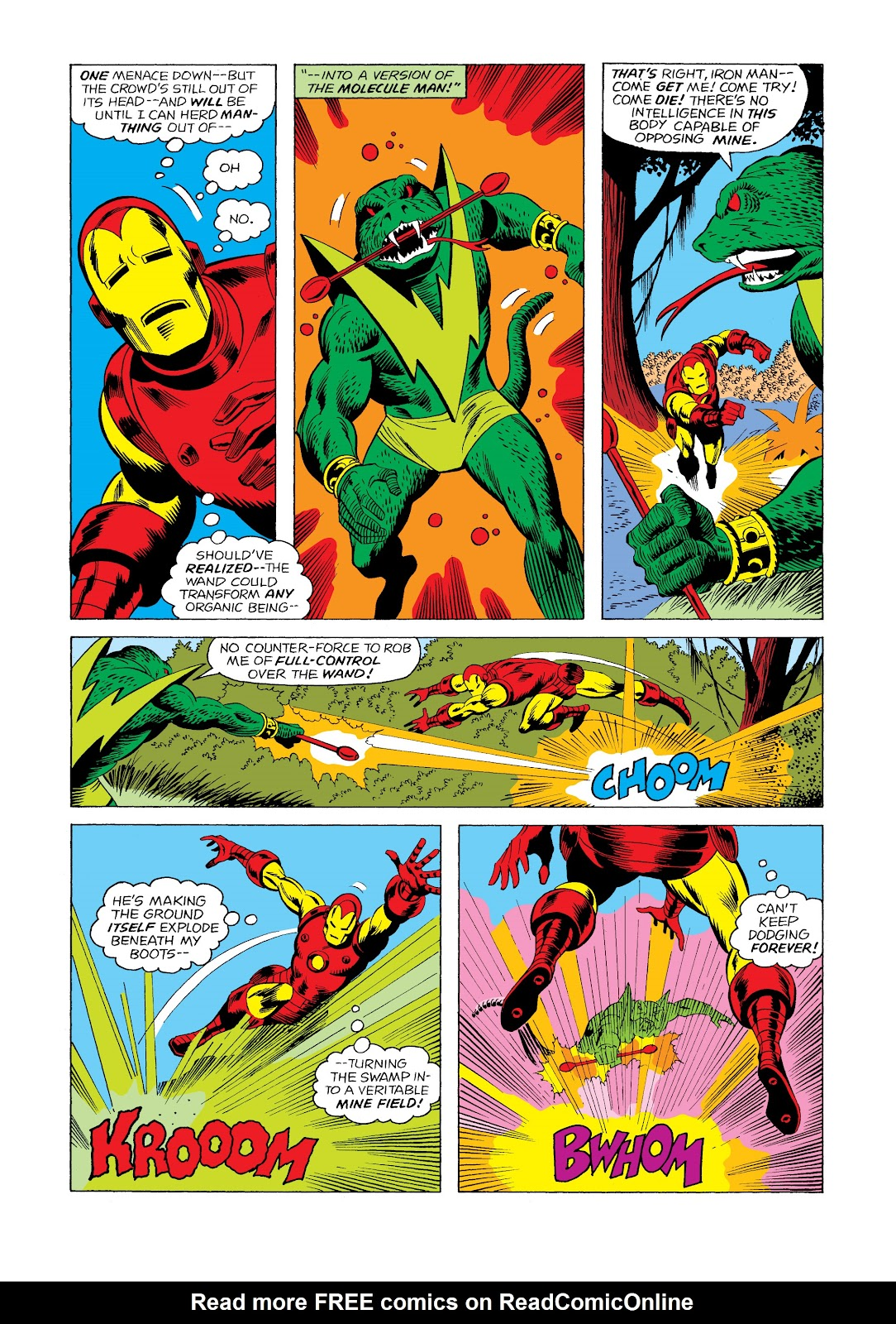 Read online Marvel Masterworks: The Invincible Iron Man comic -  Issue # TPB 11 (Part 2) - 53
