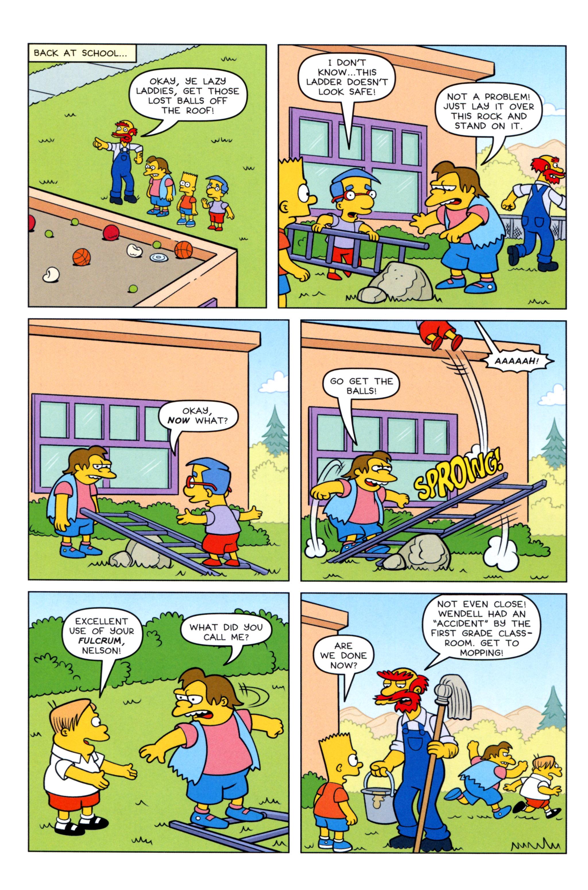 Read online Simpsons Comics comic -  Issue #217 - 6