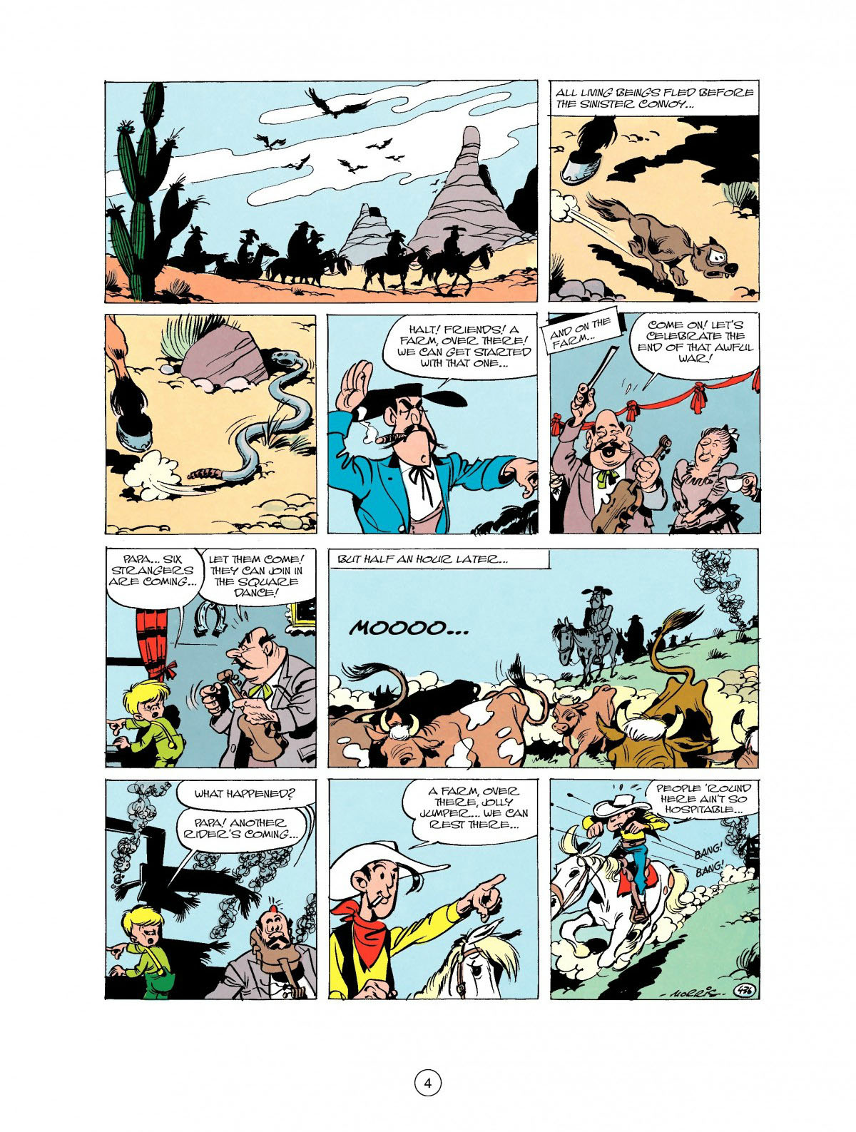 Read online A Lucky Luke Adventure comic -  Issue #27 - 5