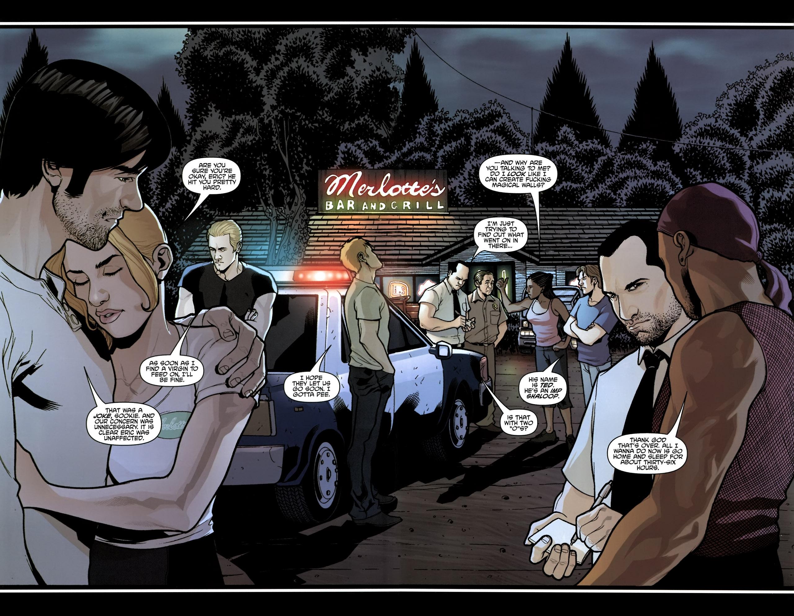 Read online True Blood (2010) comic -  Issue #6 - 19