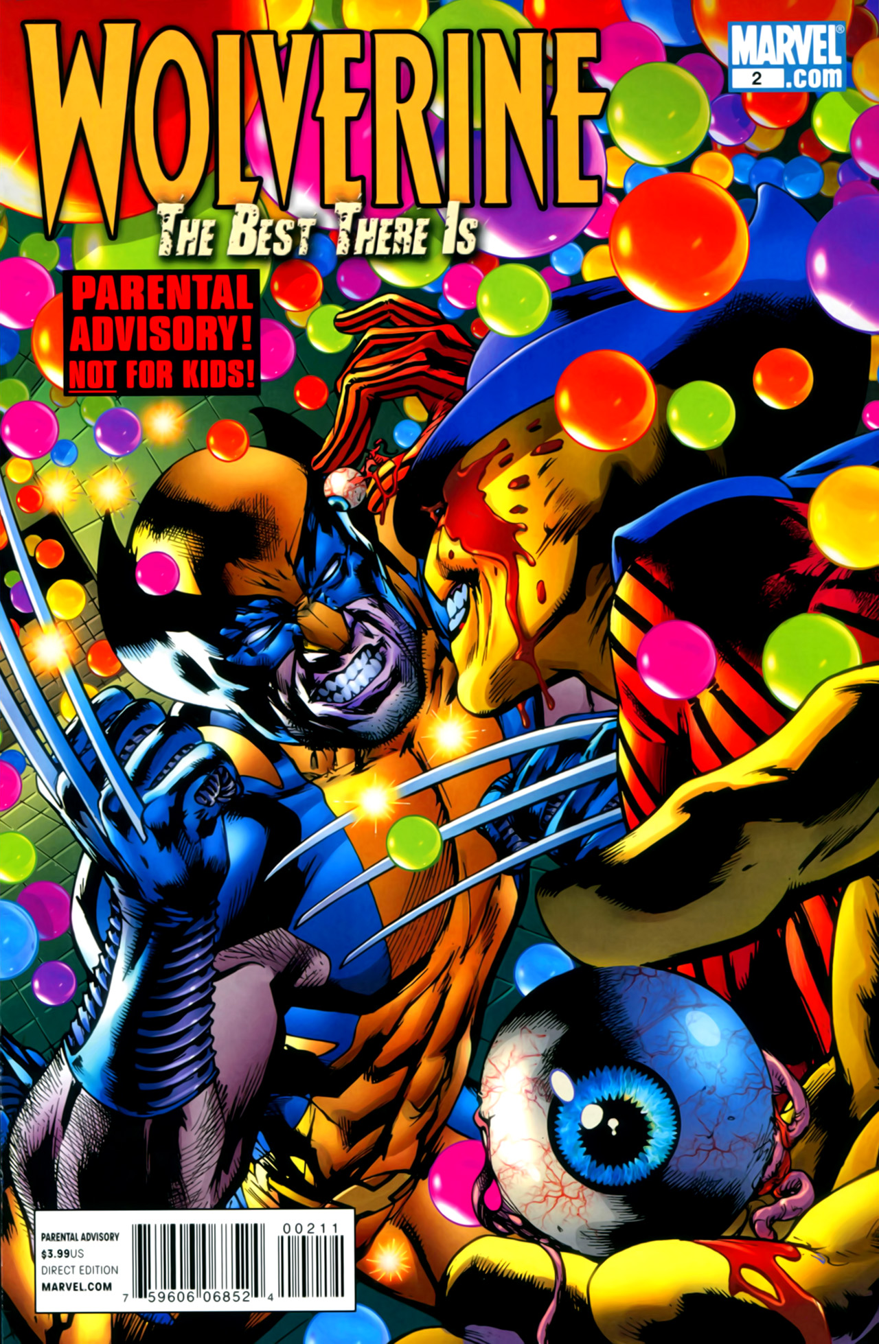 Read online Wolverine: The Best There Is comic -  Issue #2 - 1