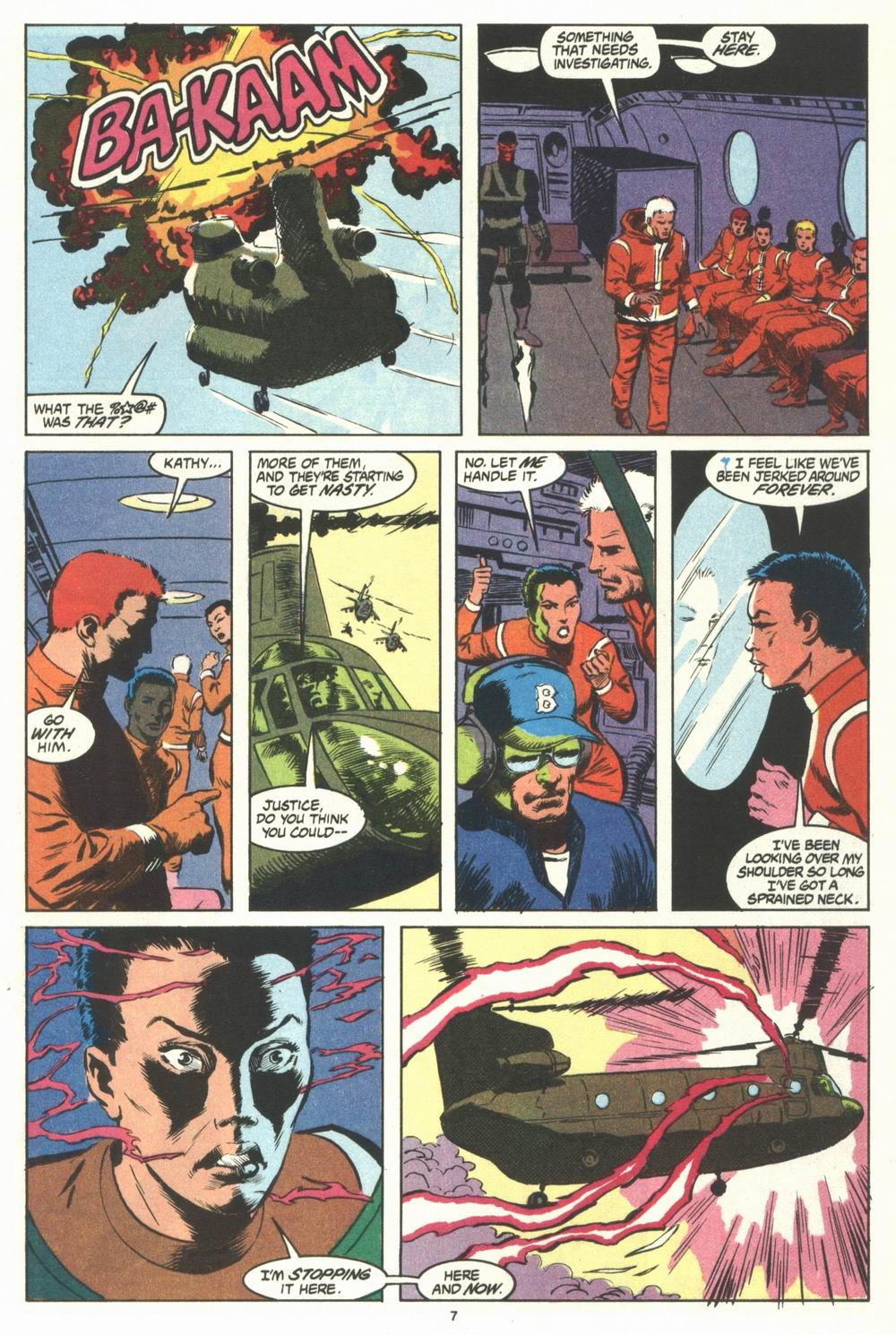Read online Justice (1986) comic -  Issue #29 - 8