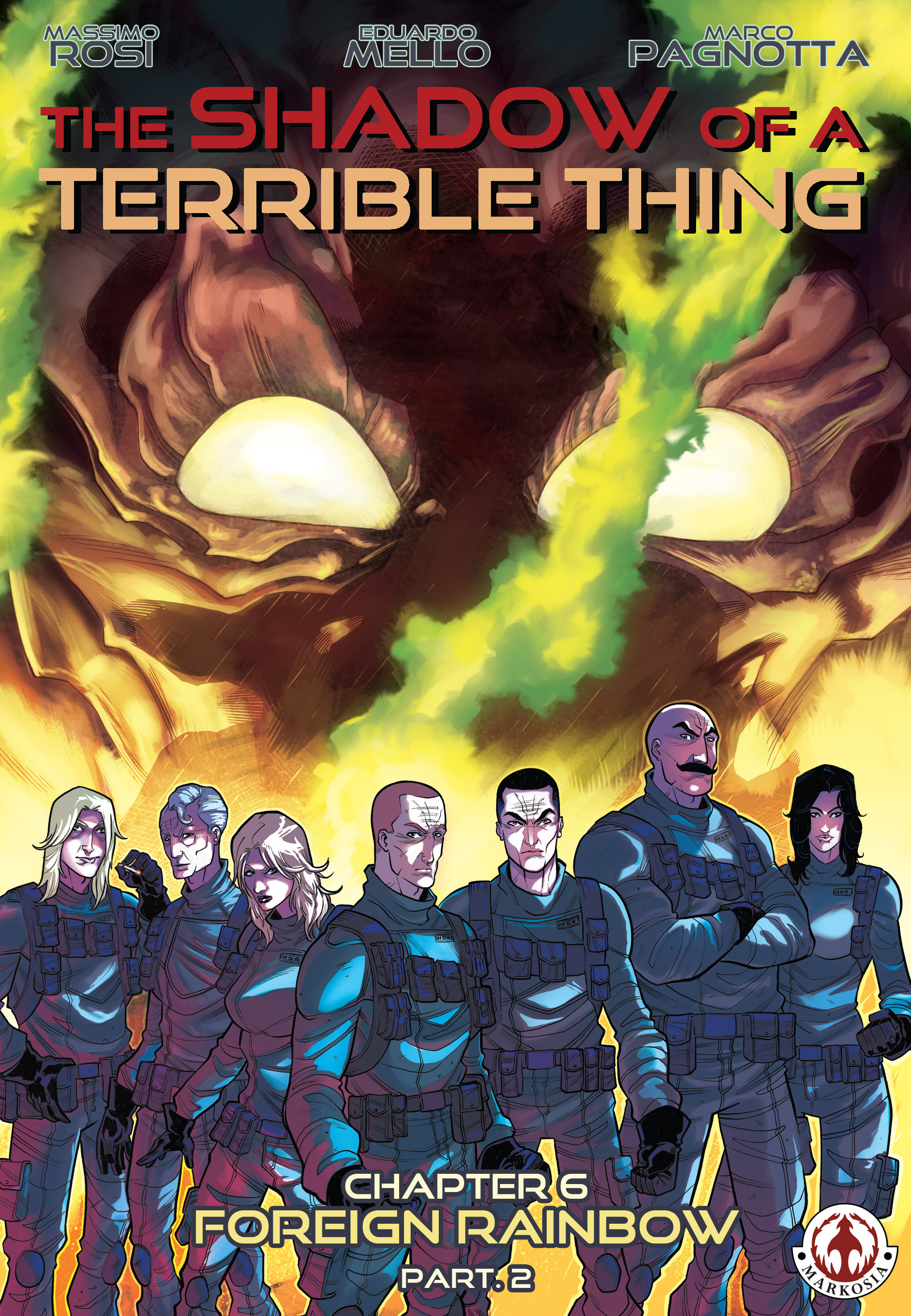 Read online The Shadow of a Terrible Thing comic -  Issue # TPB - 117