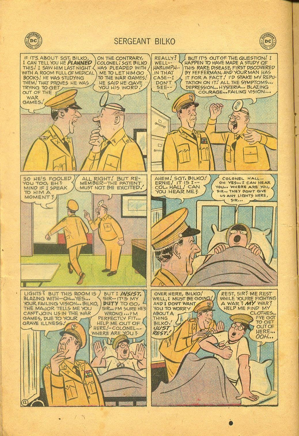 Sergeant Bilko issue 1 - Page 14