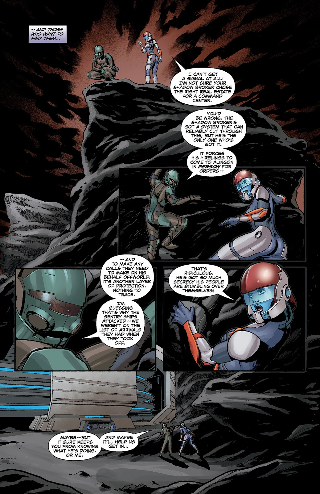 Mass Effect: Redemption Issue #3 #3 - English 13