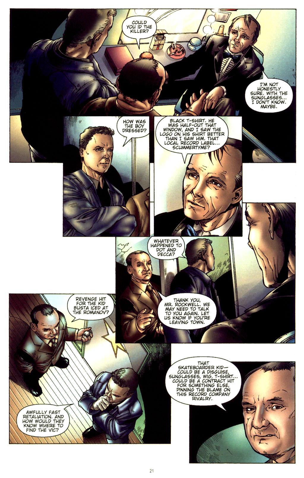 Read online CSI: Crime Scene Investigation: Bad Rap comic -  Issue #2 - 22