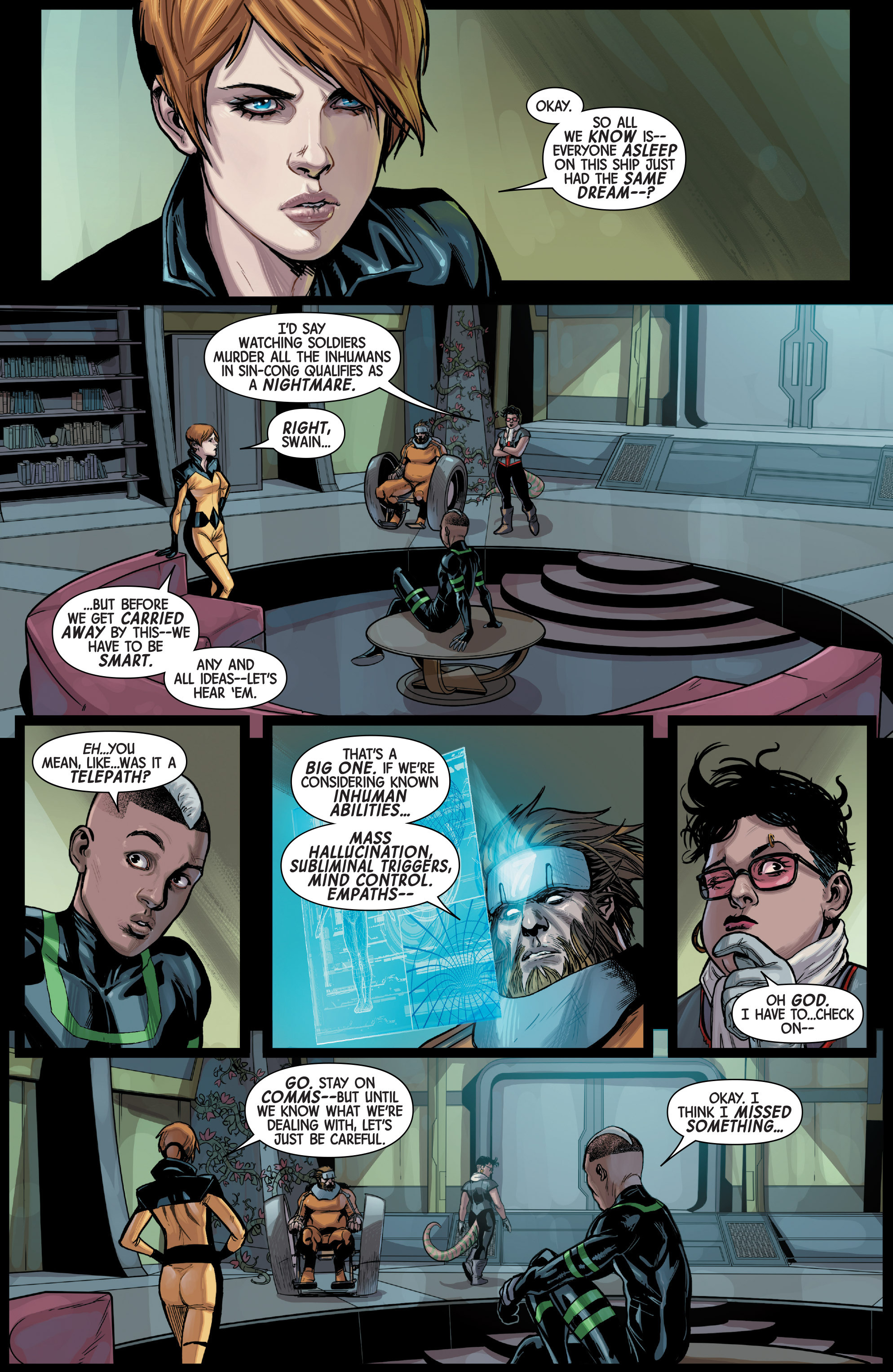 Read online All-New Inhumans comic -  Issue #3 - 3