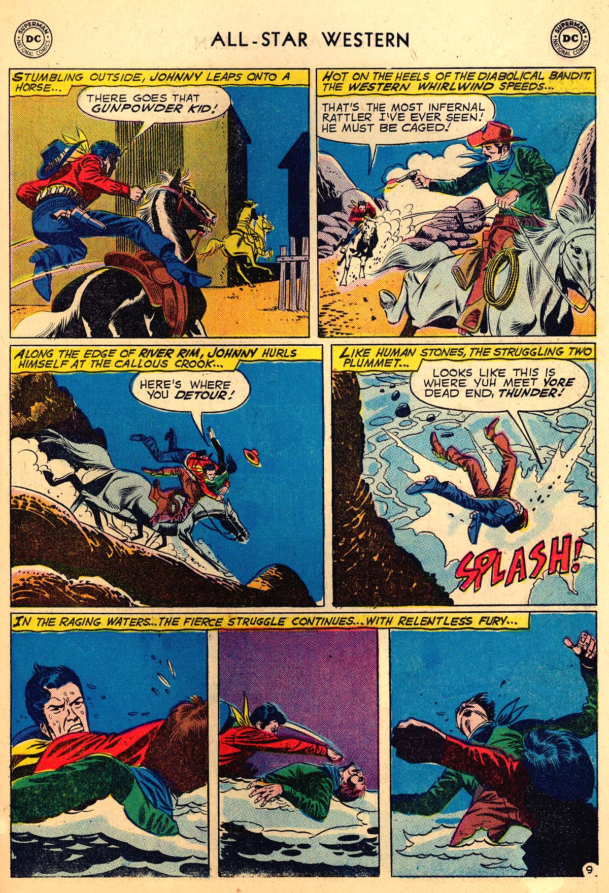 Read online All-Star Western (1951) comic -  Issue #110 - 11