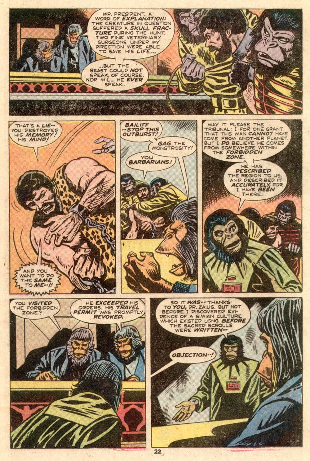 Read online Adventures on the Planet of the Apes comic -  Issue #4 - 15