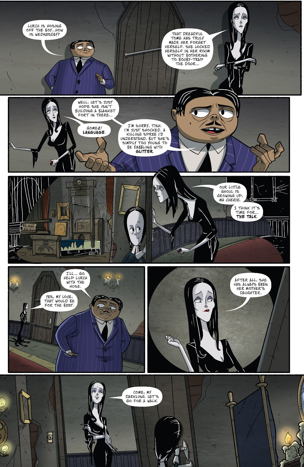 Read online Addams Family: The Bodies Issue comic -  Issue # Full - 22