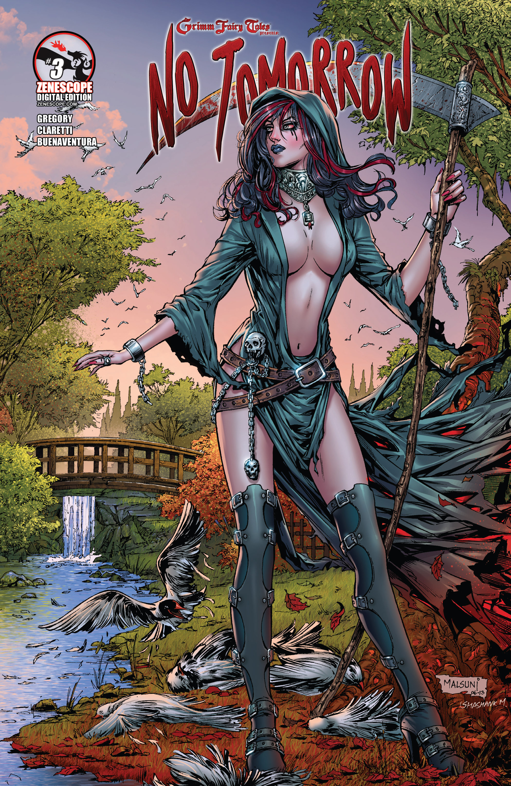 Read online Grimm Fairy Tales presents No Tomorrow comic -  Issue # TPB - 51