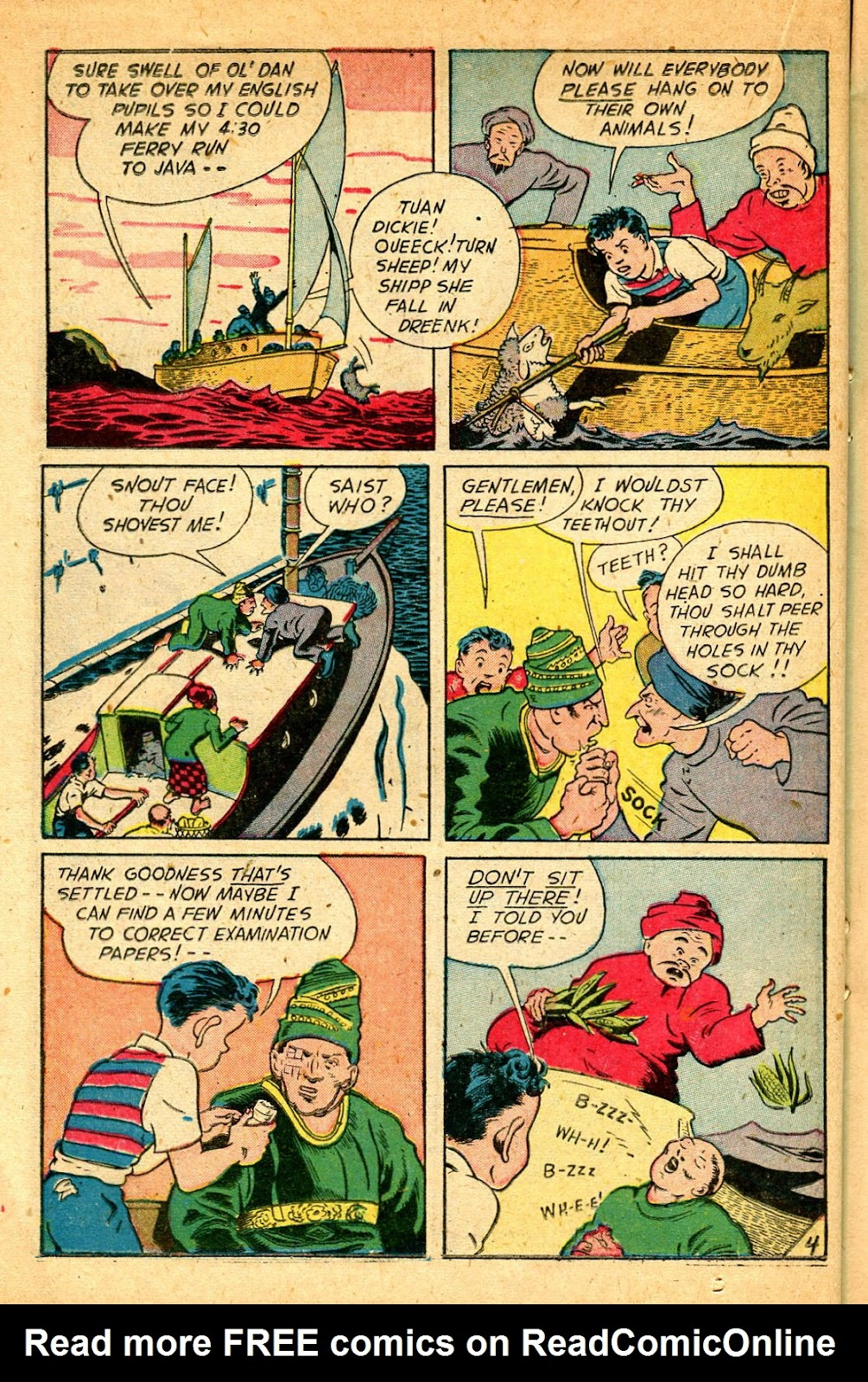 Read online Famous Funnies comic -  Issue #178 - 22