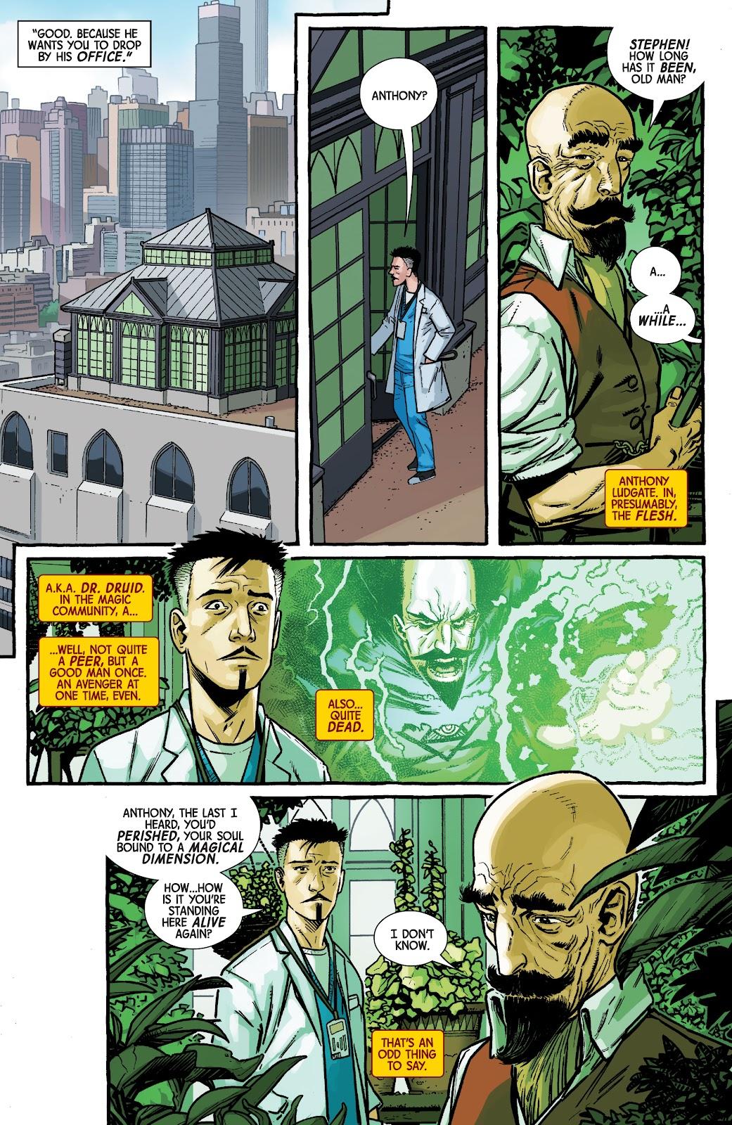 Read online Dr. Strange comic -  Issue #2 - 9
