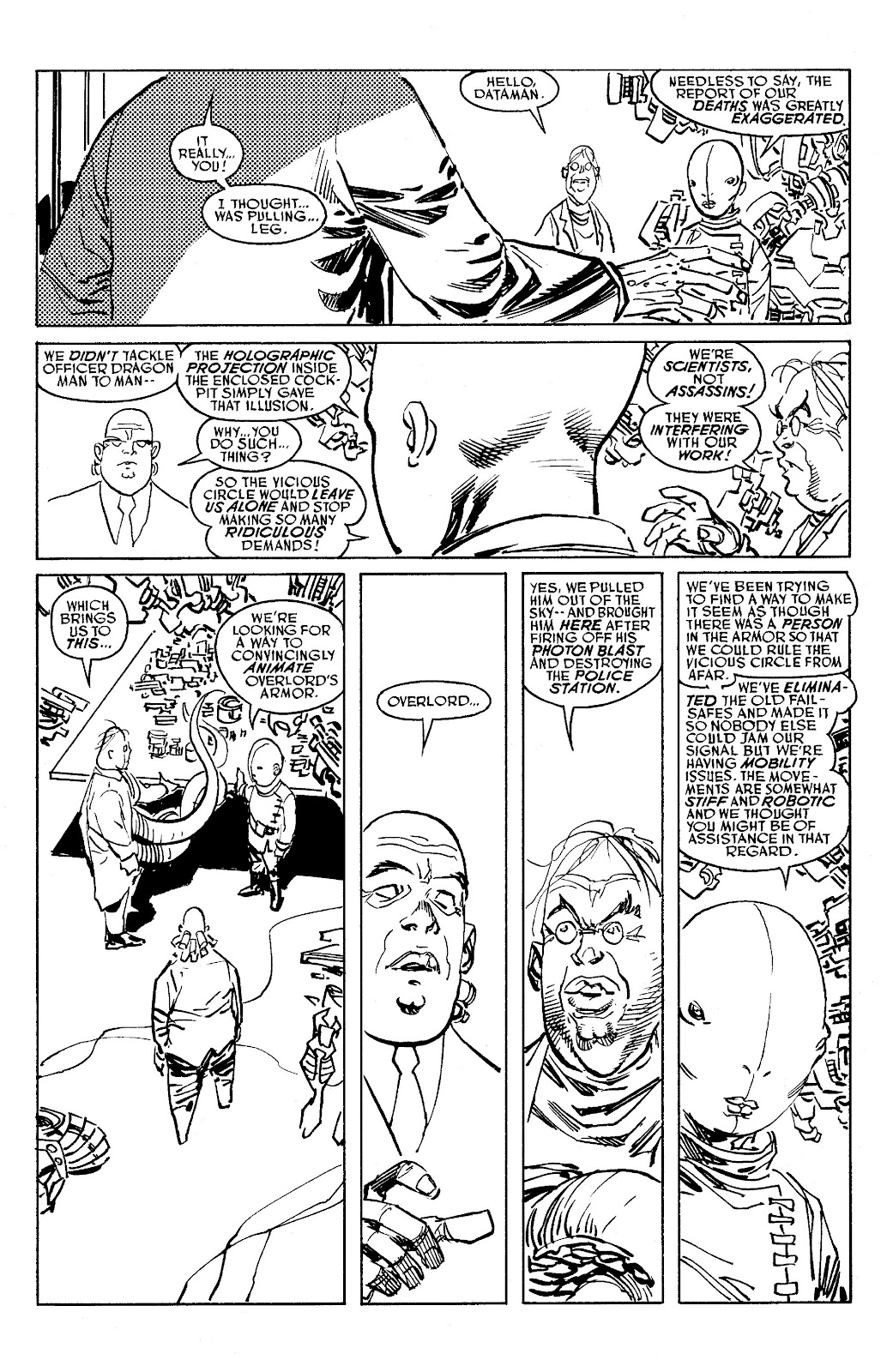 Read online Savage Dragon Archives comic -  Issue # TPB 6 (Part 5) - 90