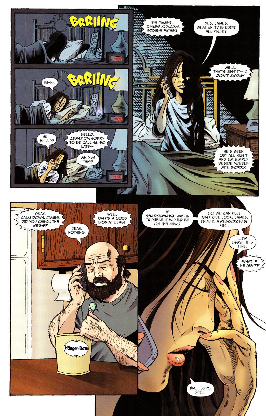 Read online ShadowHawk (2005) comic -  Issue #15 - 21