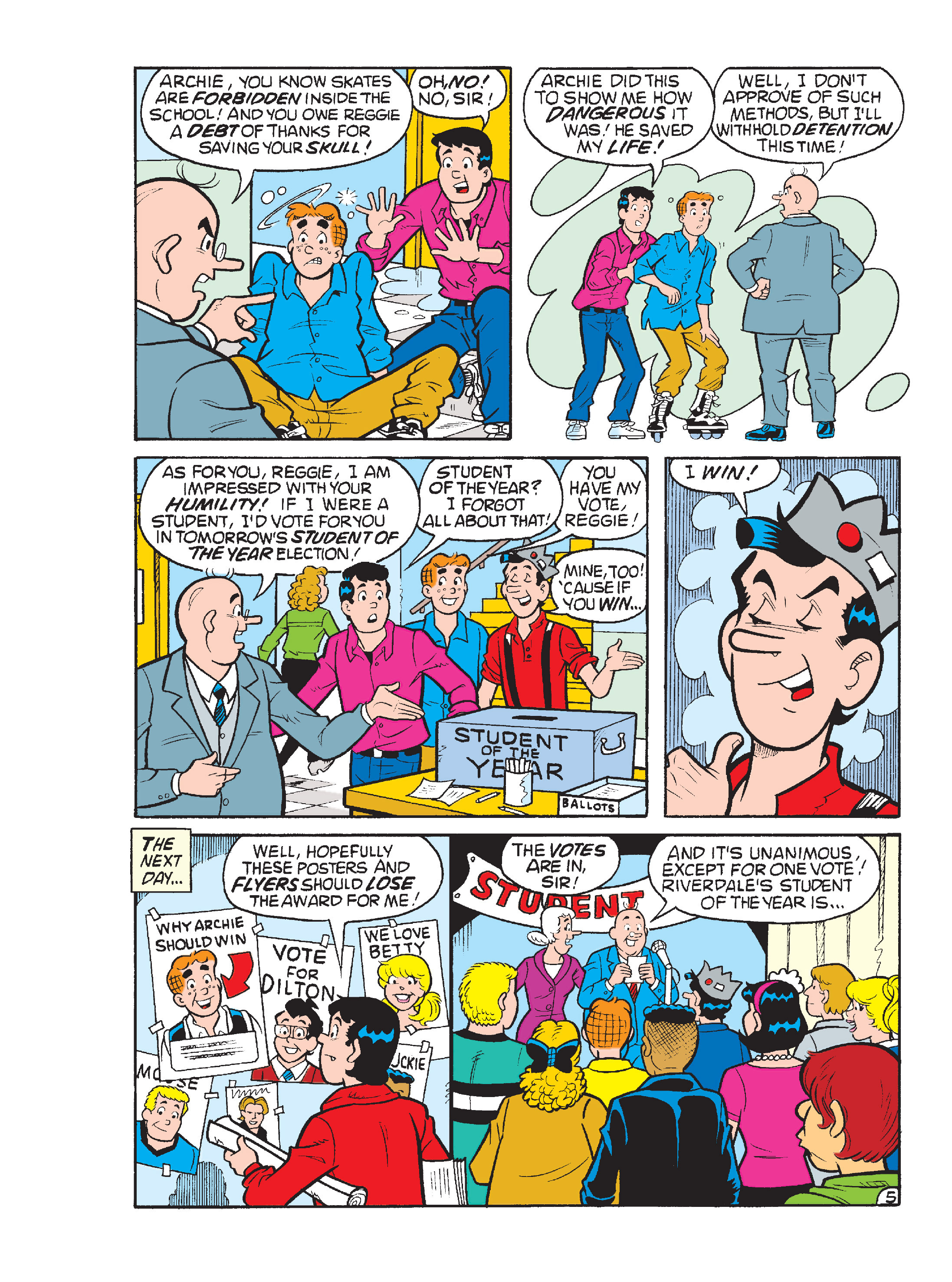 Read online Archie's Funhouse Double Digest comic -  Issue #17 - 150