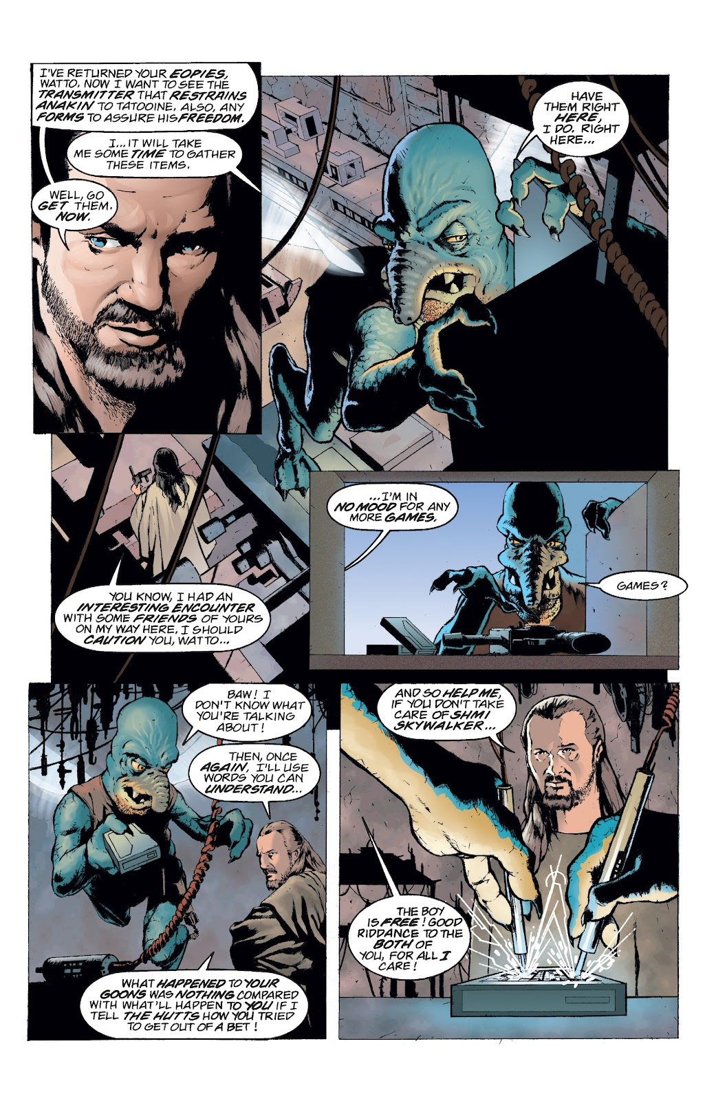 Read online Star Wars Legends: Rise of the Sith - Epic Collection comic -  Issue # TPB 2 (Part 5) - 8