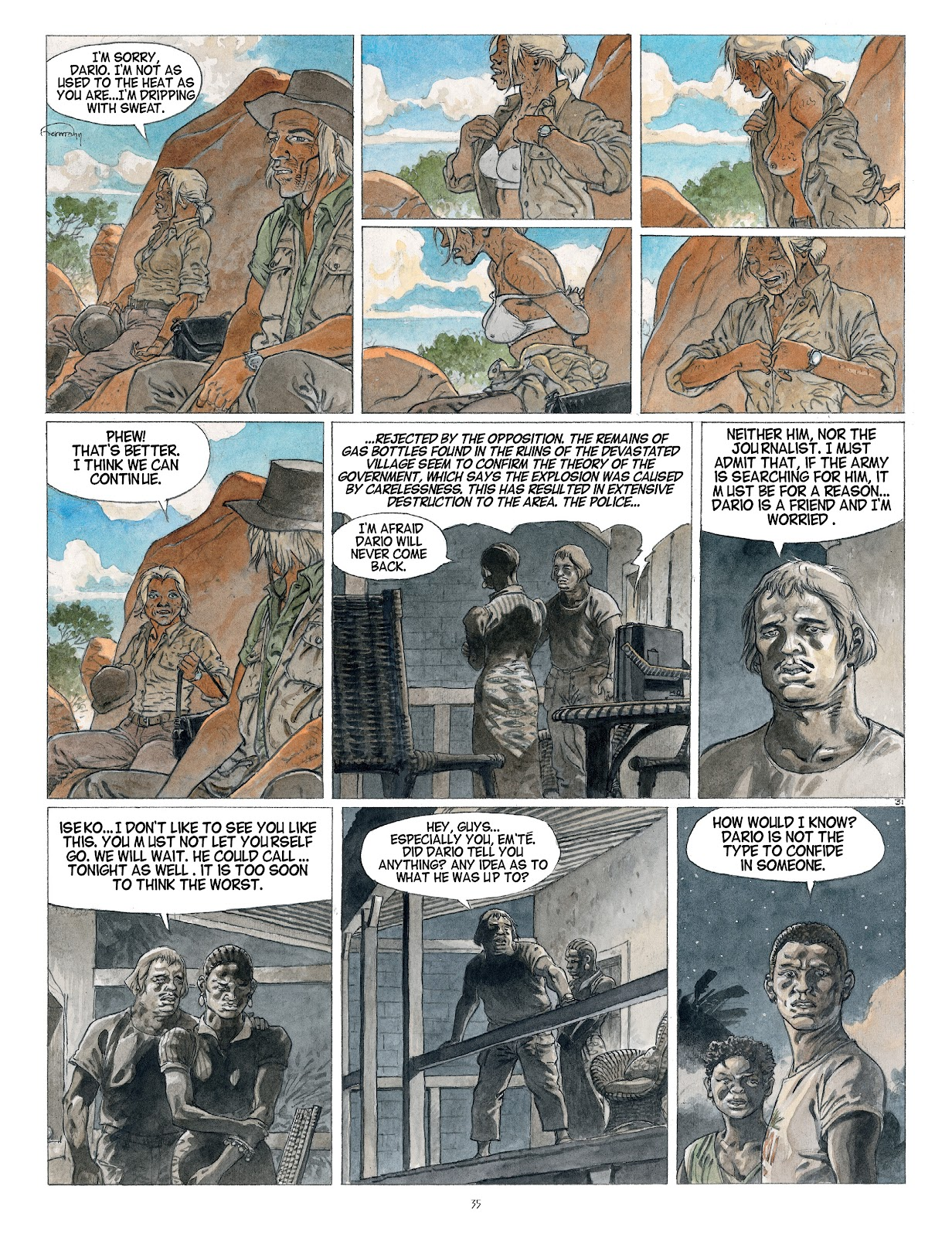 Read online Afrika comic -  Issue # TPB - 35