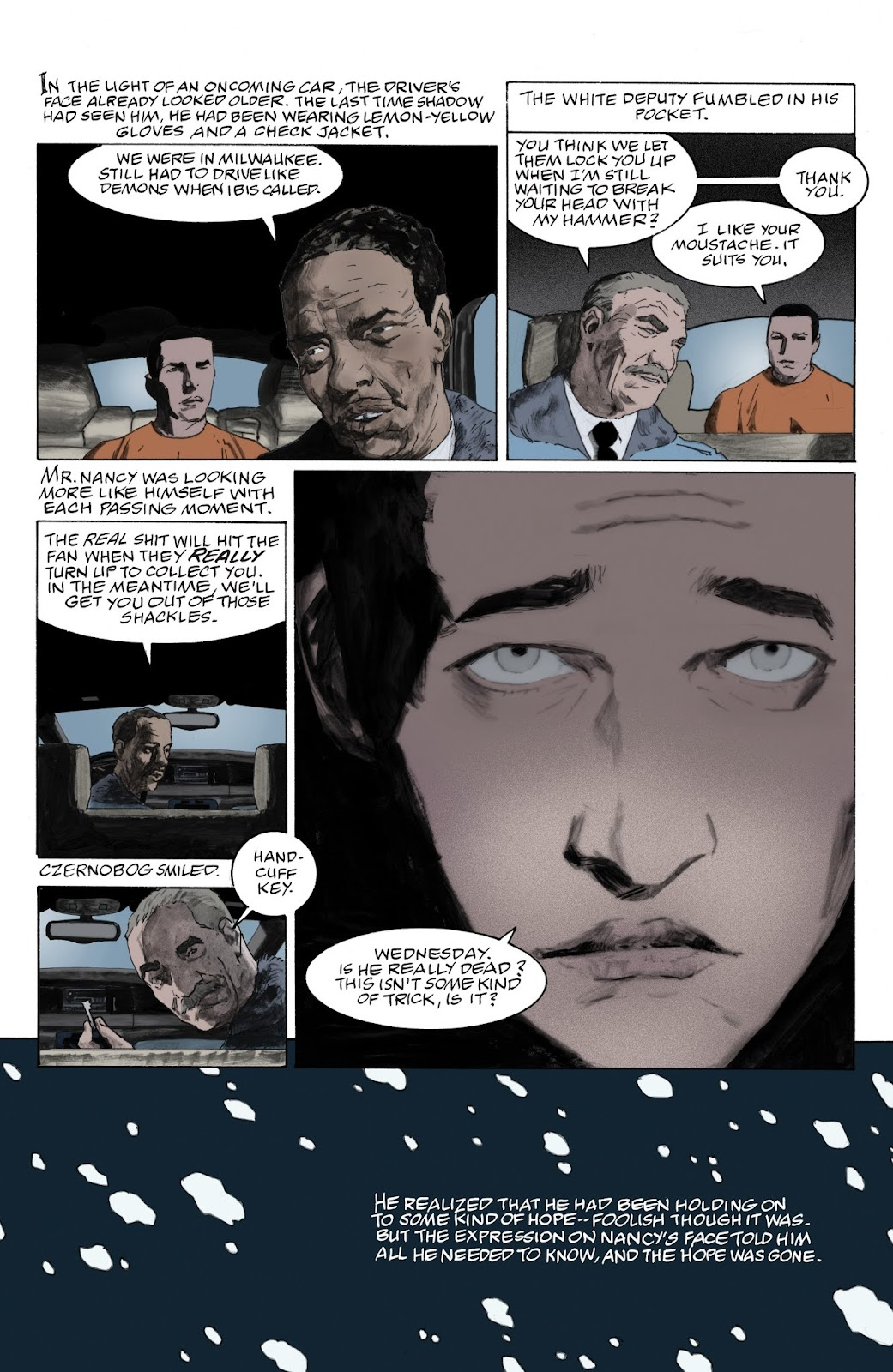 American Gods: My Ainsel issue 9 - Page 18