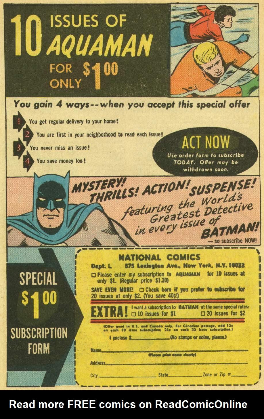 Aquaman (1962) Issue #22 #22 - English 34