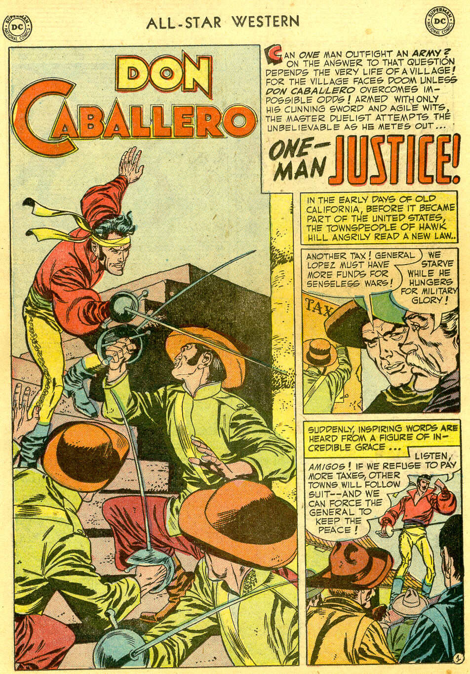 Read online All-Star Western (1951) comic -  Issue #64 - 18