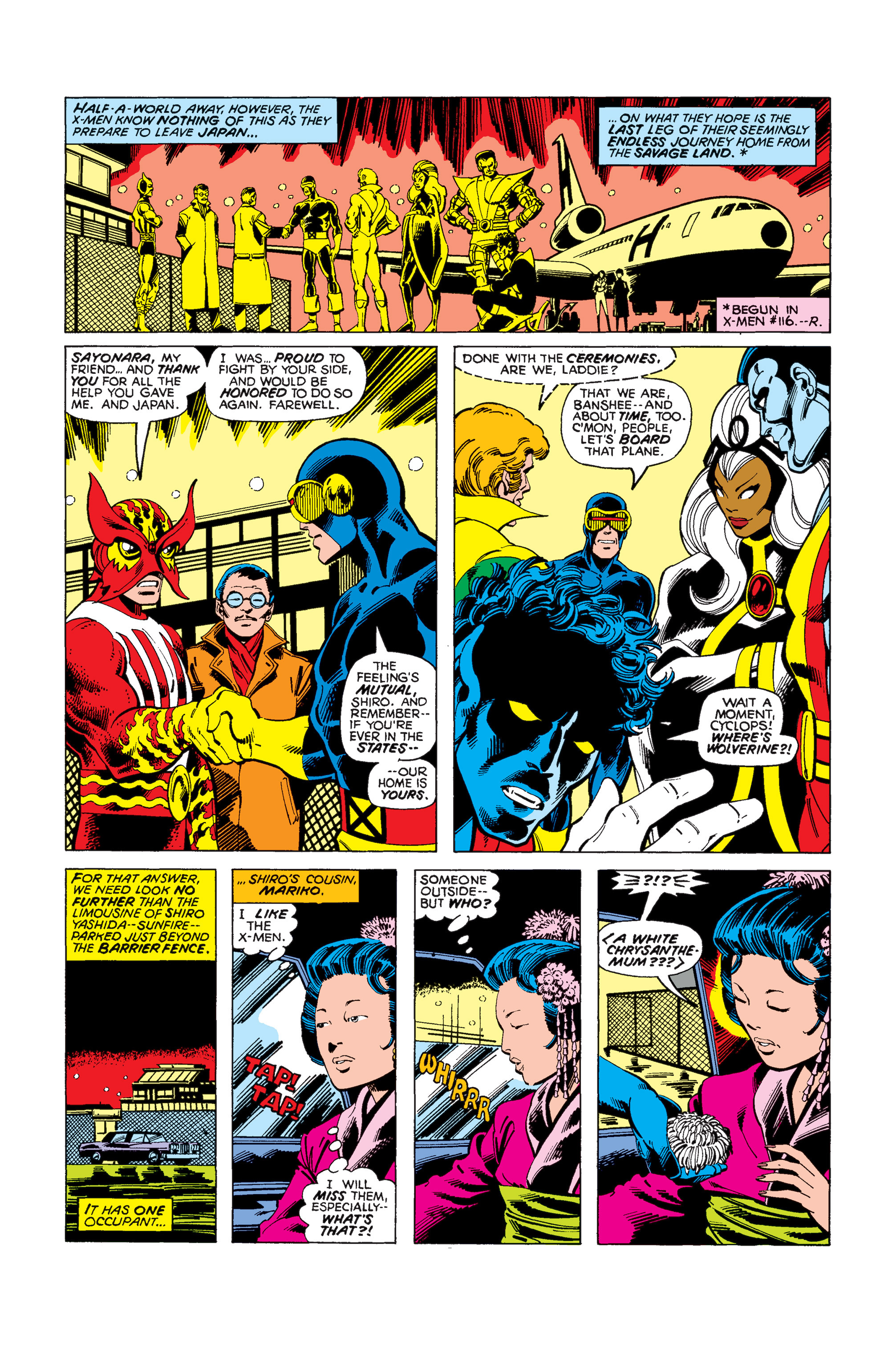 Uncanny X-Men (1963) 120 Page 3