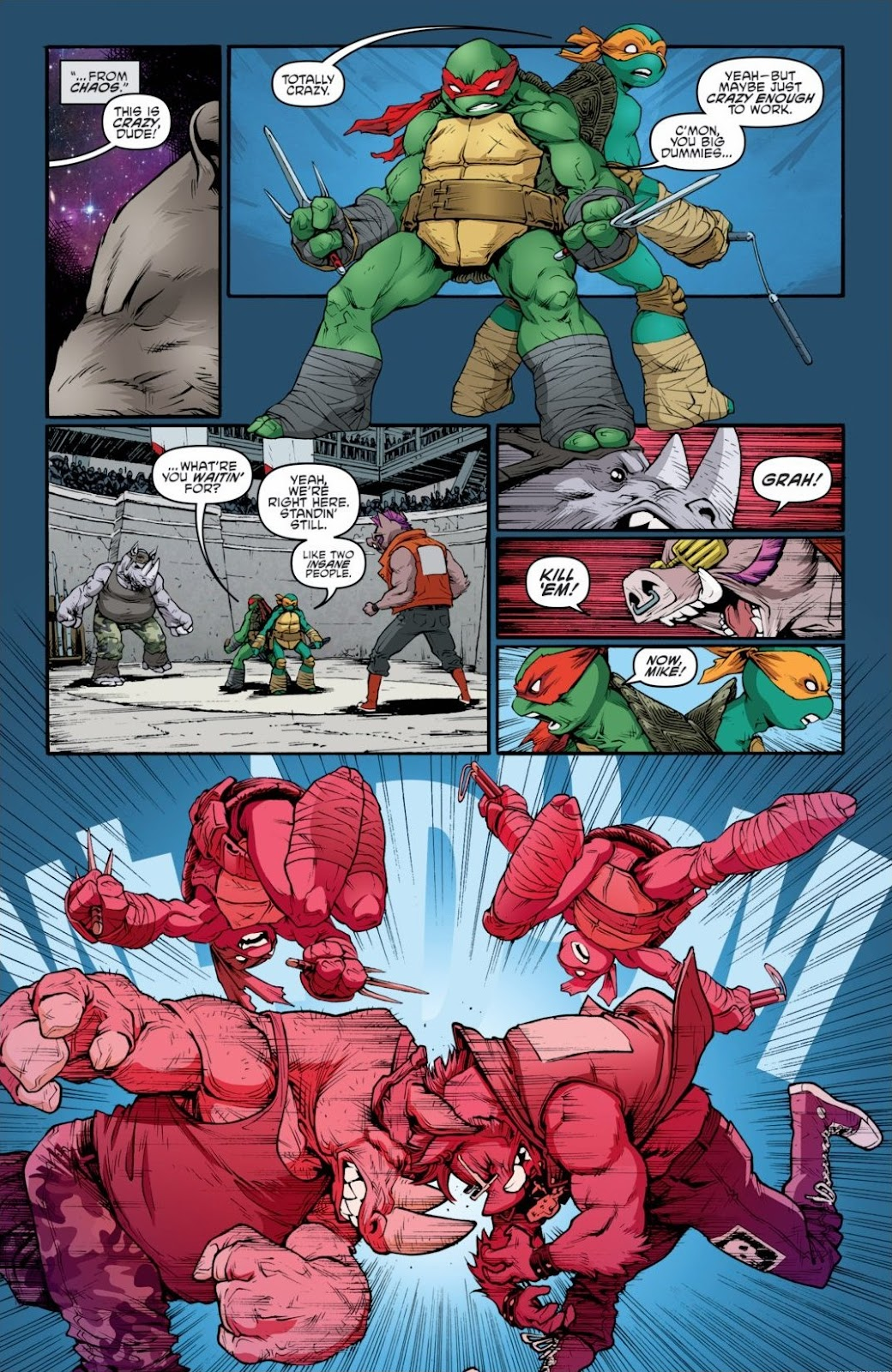 Read online Teenage Mutant Ninja Turtles: The IDW Collection comic -  Issue # TPB 6 (Part 3) - 48