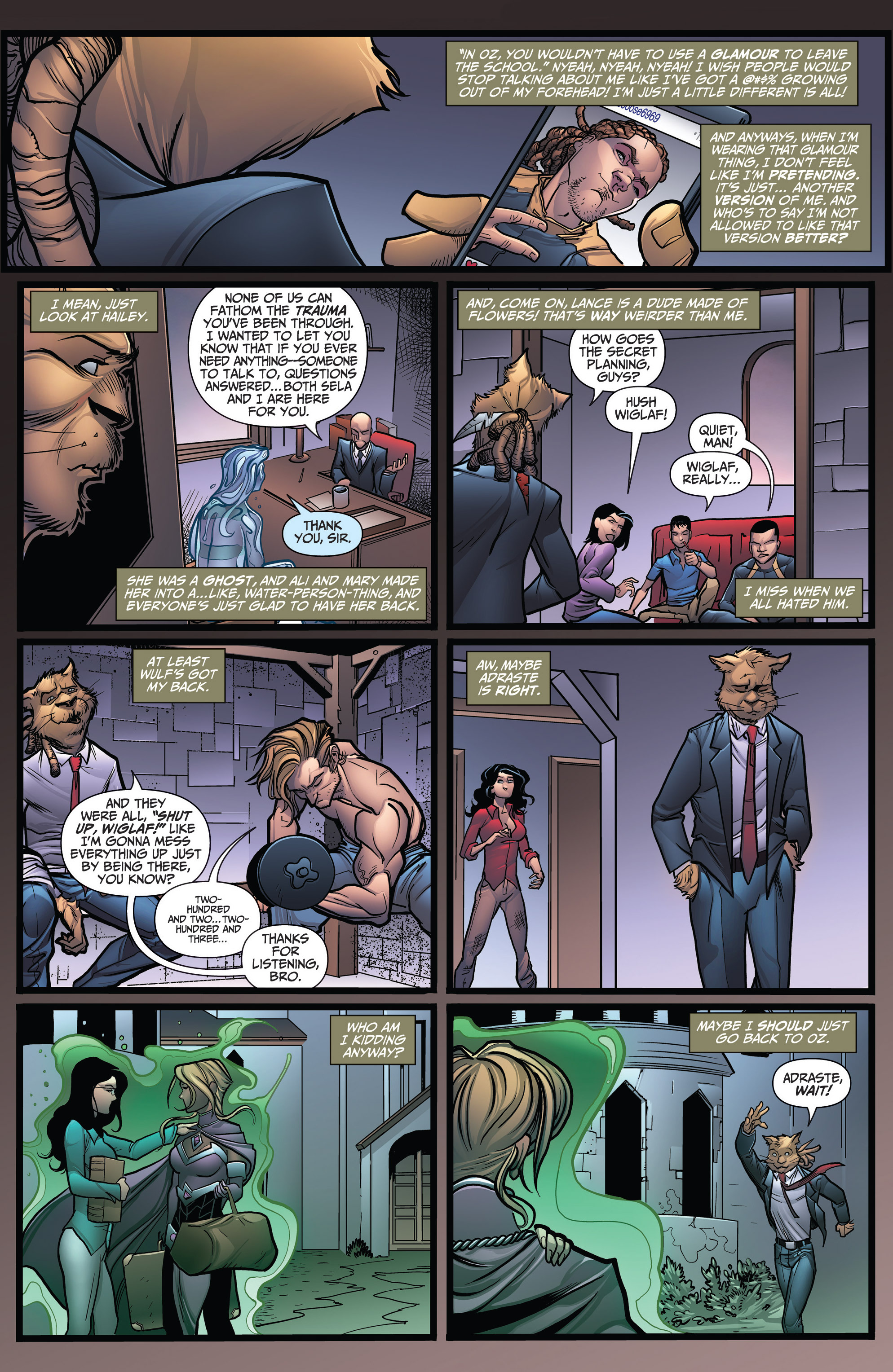 Read online Grimm Fairy Tales: Arcane Acre comic -  Issue # TPB 3 - 122