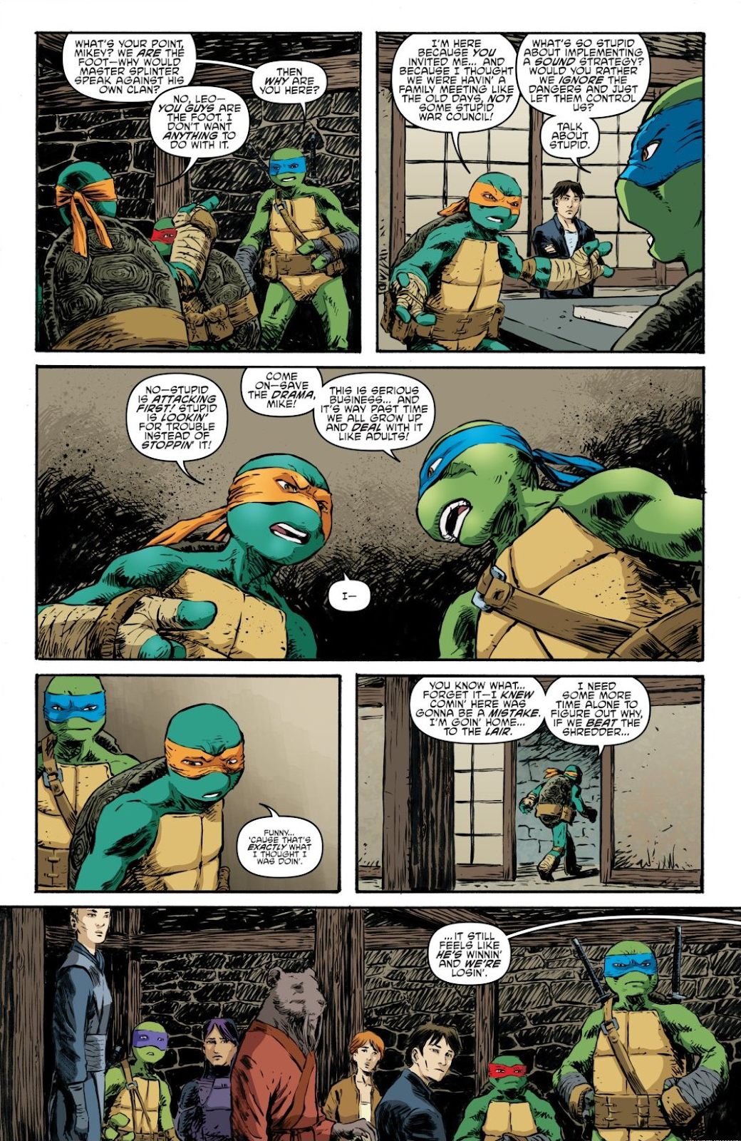 Read online Teenage Mutant Ninja Turtles: The IDW Collection comic -  Issue # TPB 7 (Part 3) - 43