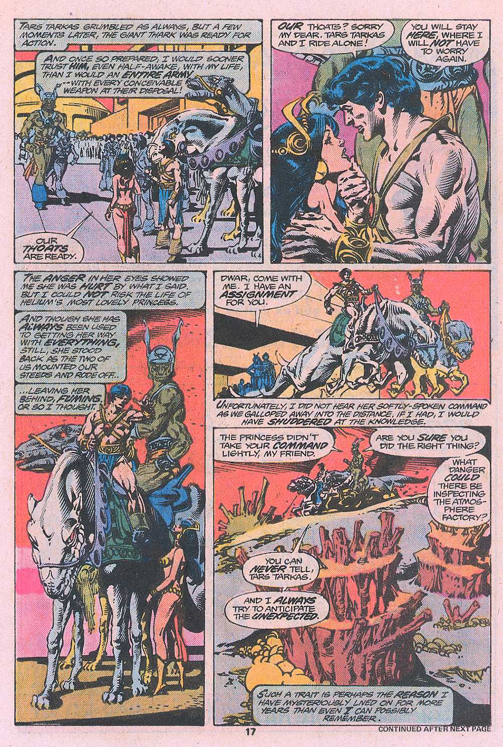 John Carter Warlord of Mars issue 2 - Page 19