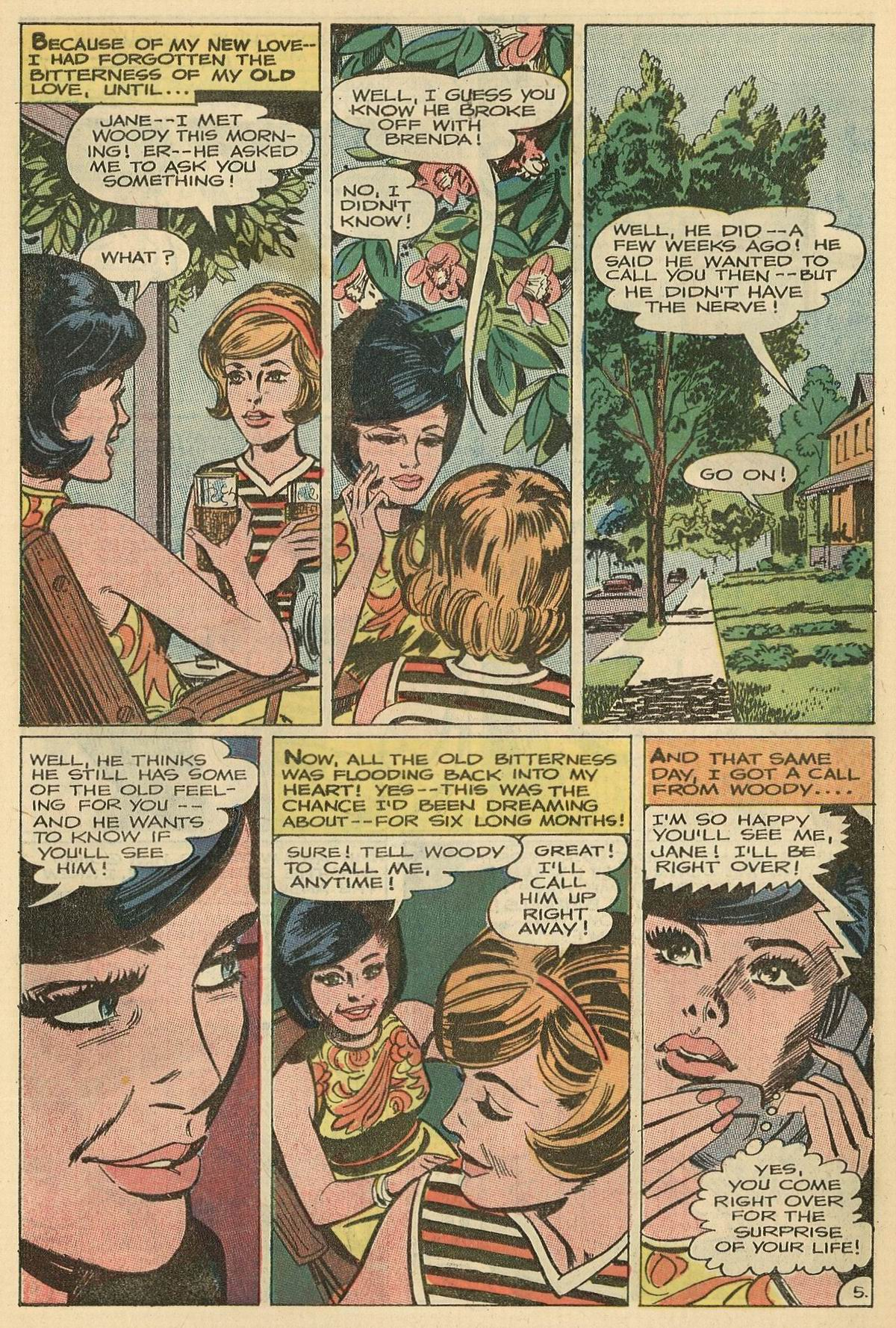 Read online Secret Hearts comic -  Issue #125 - 7